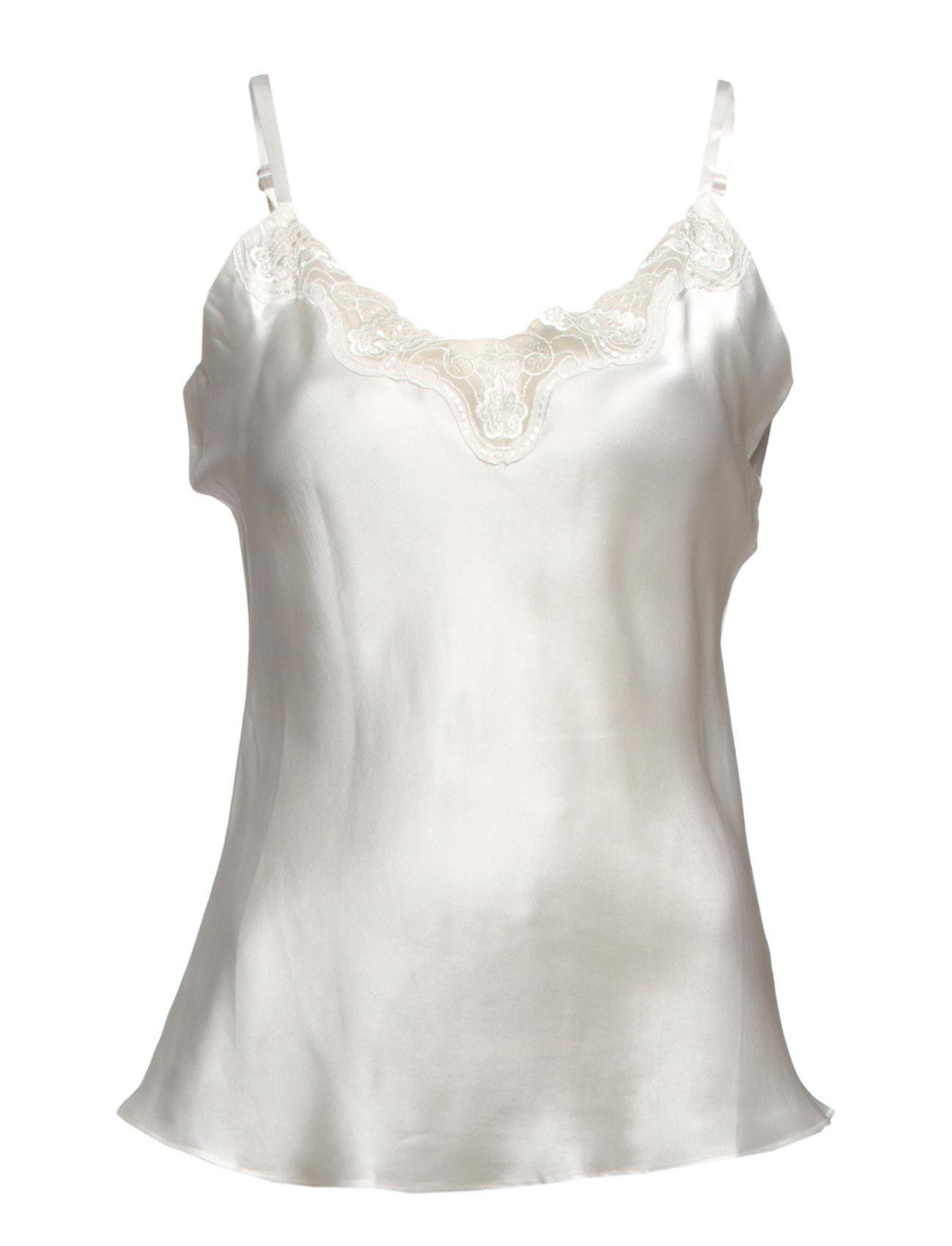 Lady Avenue Pure Silk - Camisole W.Lace