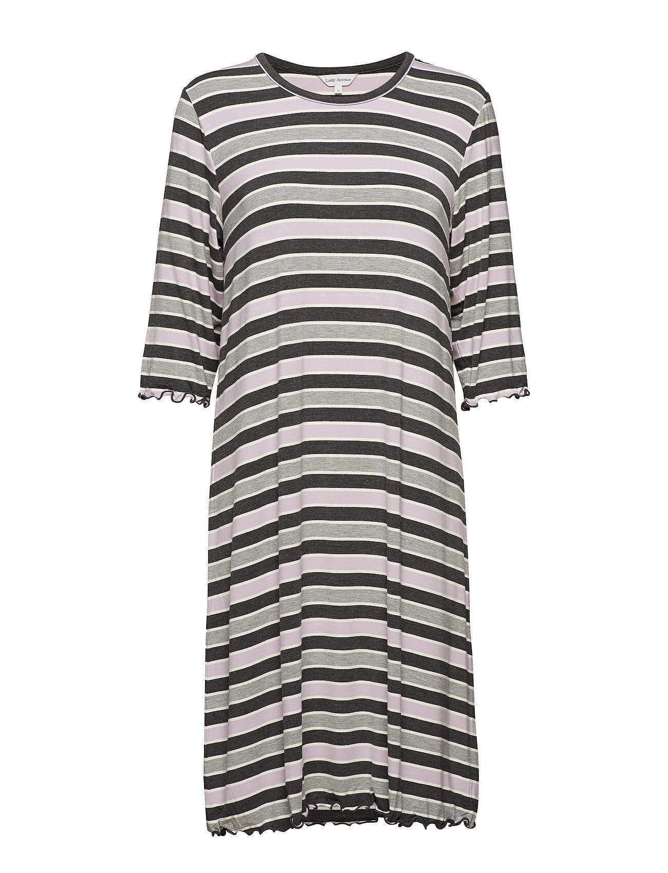 Lady Avenue Bamboo 3/4-Sleeve Nightdress