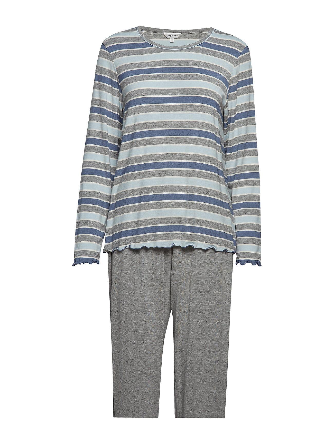 Lady Avenue Bamboo Long Sleeve Pyjamas