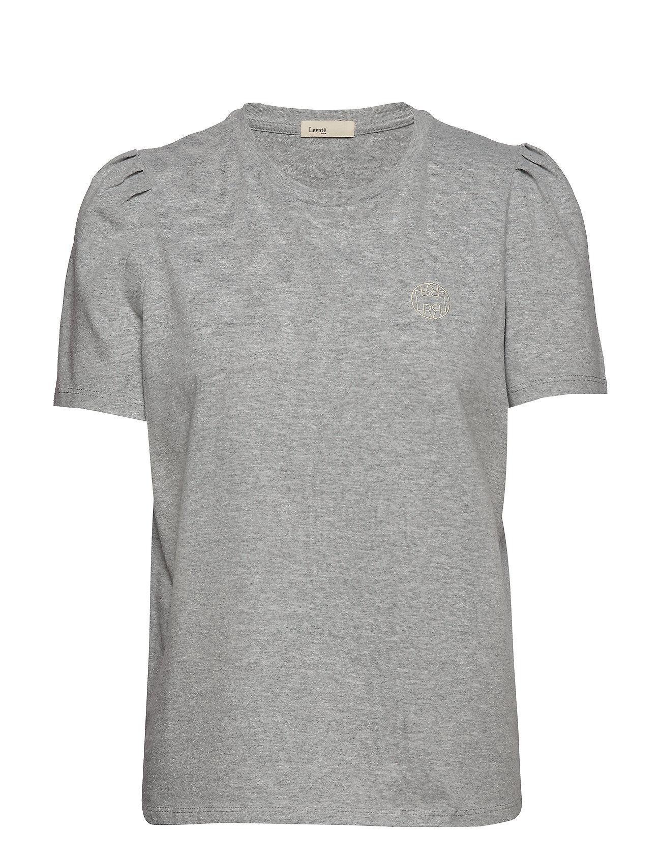 Levete Room Lr-Isol T-shirts & Tops Short-sleeved Harmaa Levete Room
