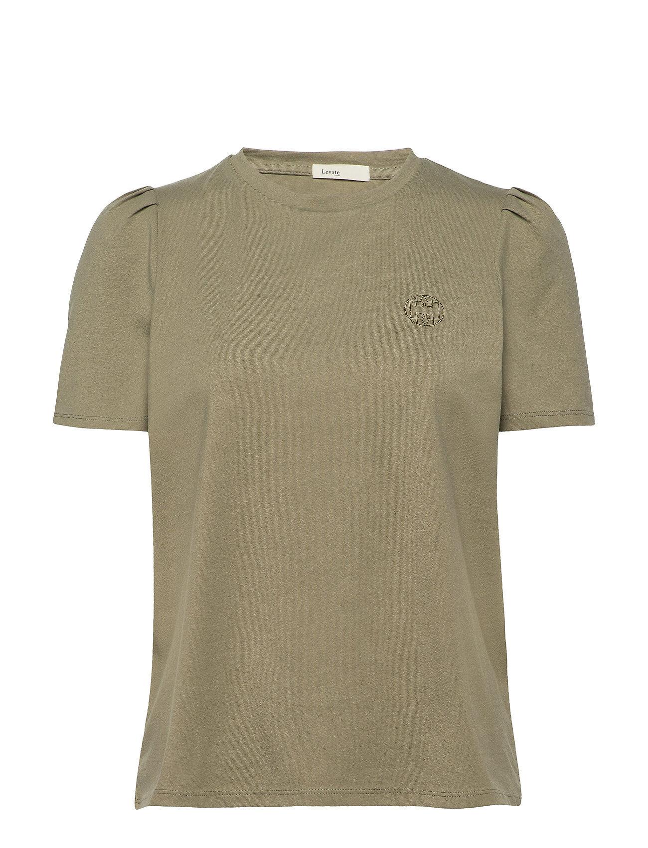 Levete Room Lr-Isol T-shirts & Tops Short-sleeved Vihreä Levete Room