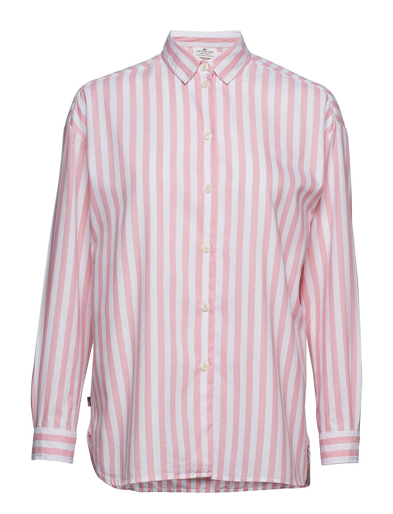 Lexington Clothing Edith Lt Oxford Shirt Pitkähihainen Paita Vaaleanpunainen