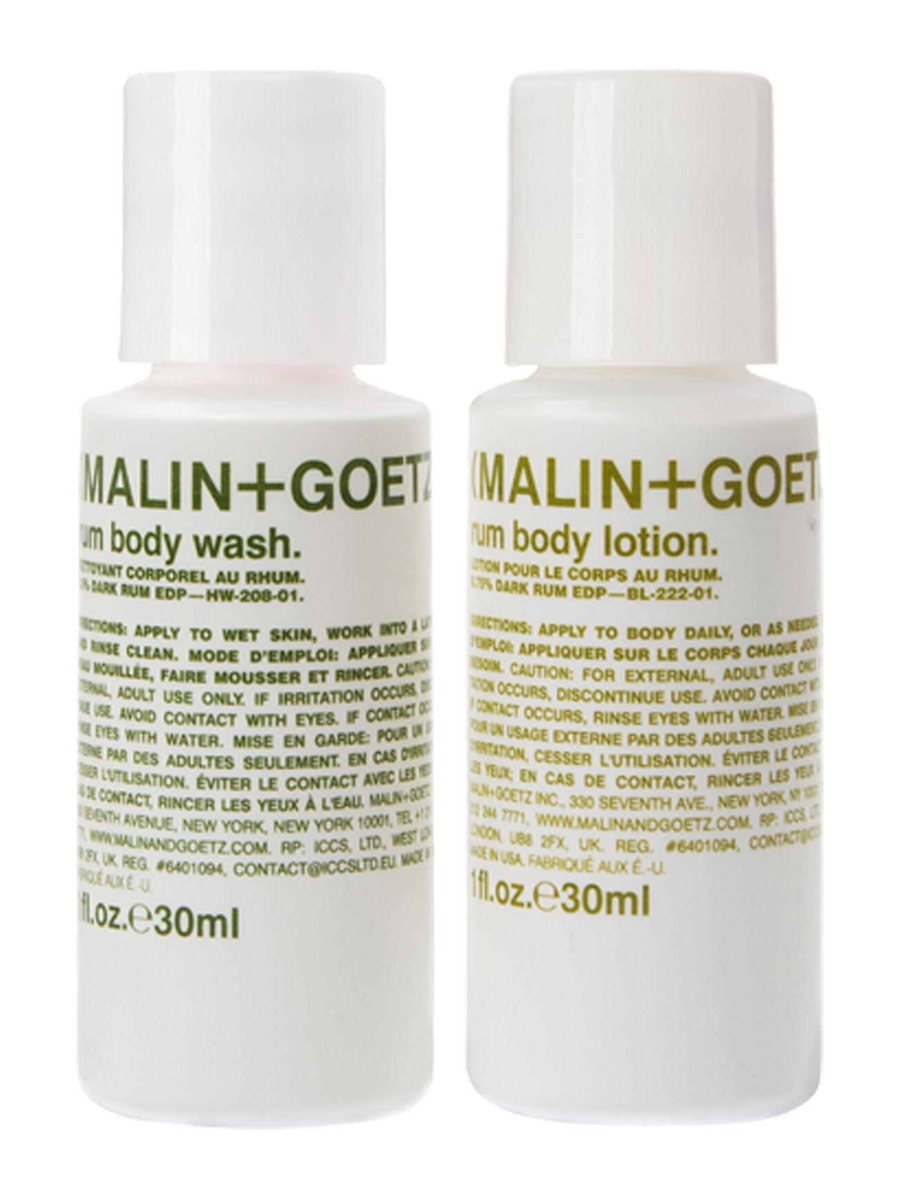 MALIN+GOETZ Rum Body Essentials Duo Kylpysetti Ihonhoito Nude MALIN+GOETZ