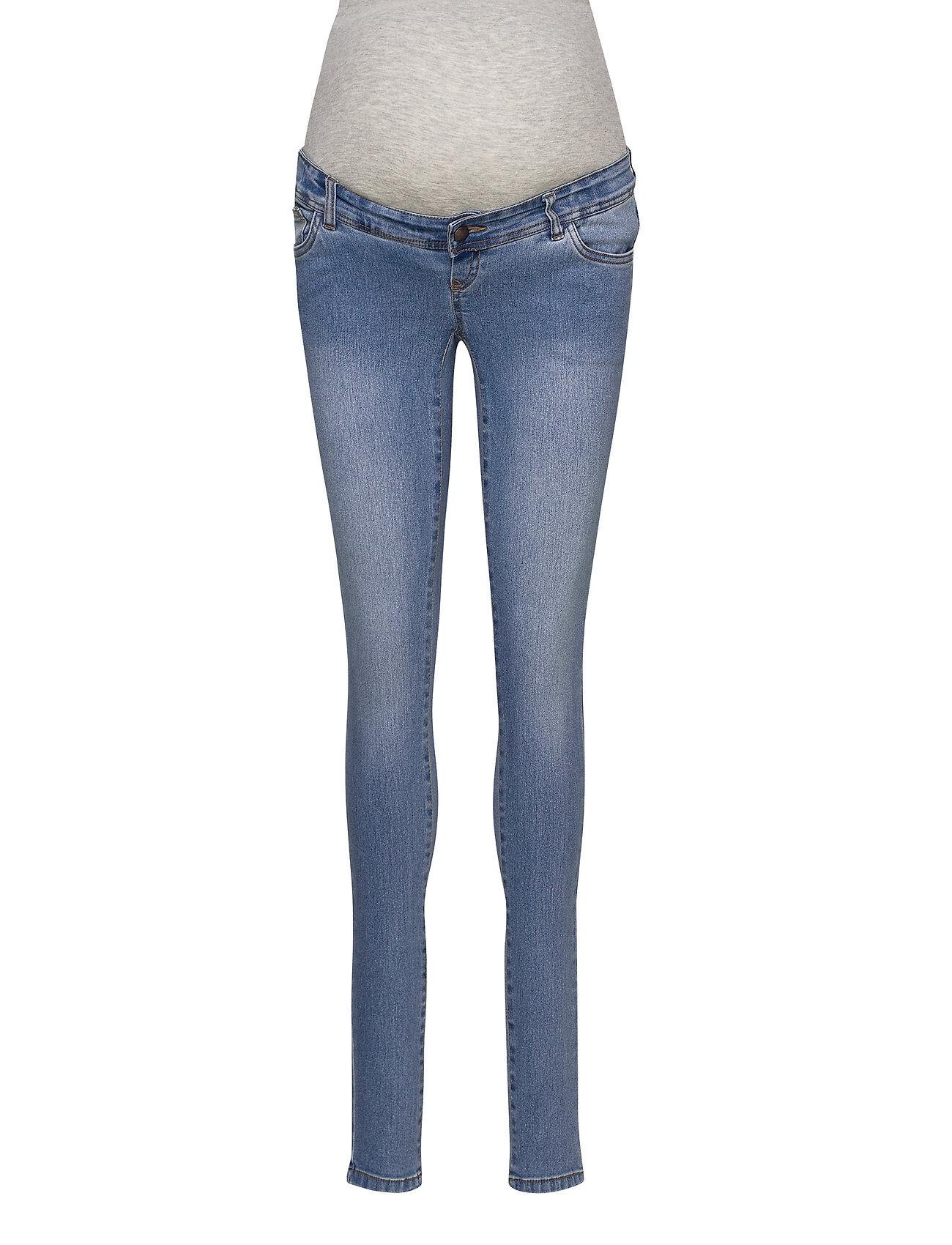 Mamalicious Mlono Slim Jeans A. Noos Jeans Mom Jeans Sininen Mamalicious