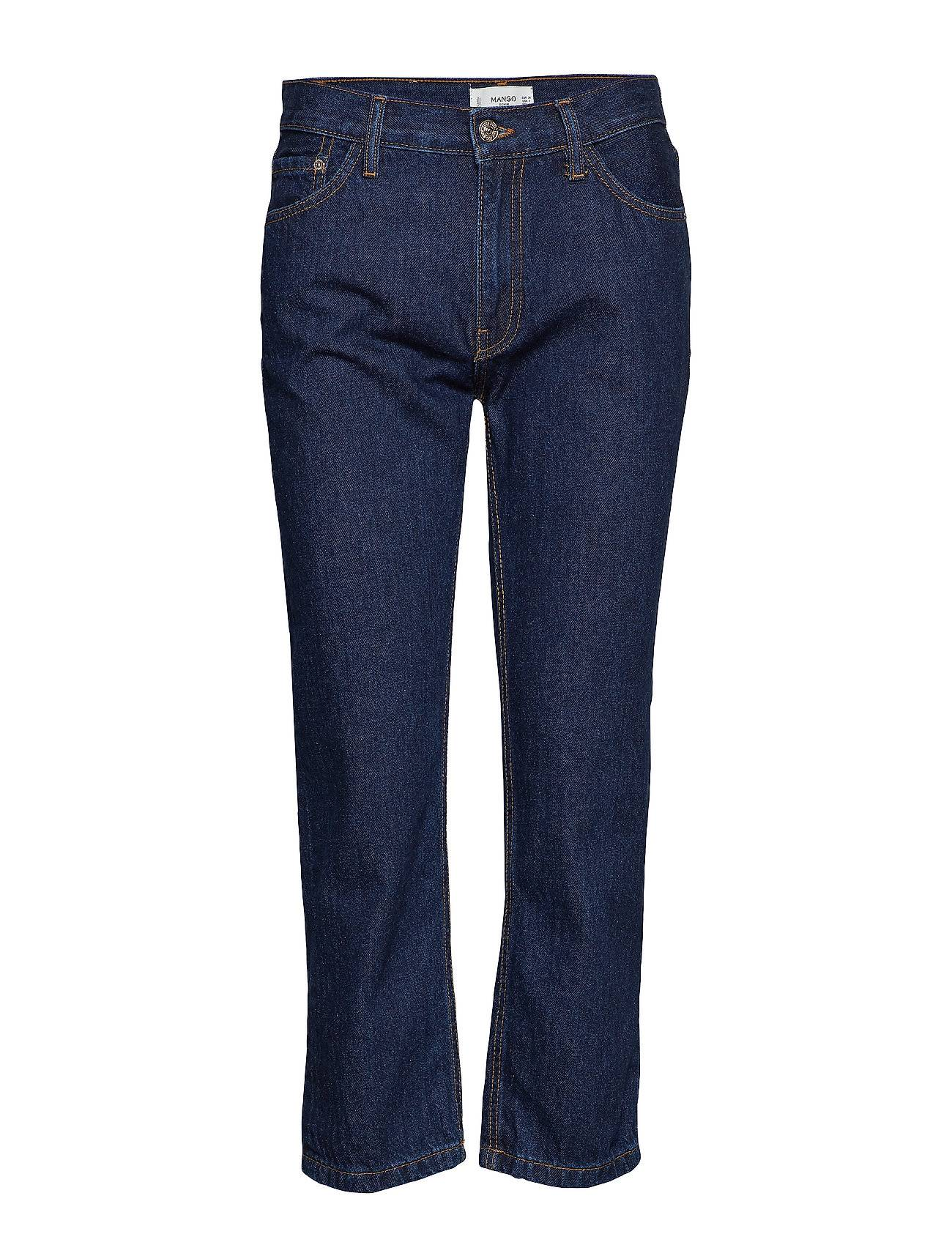 Mango Straight Cropped Jeans Maggie