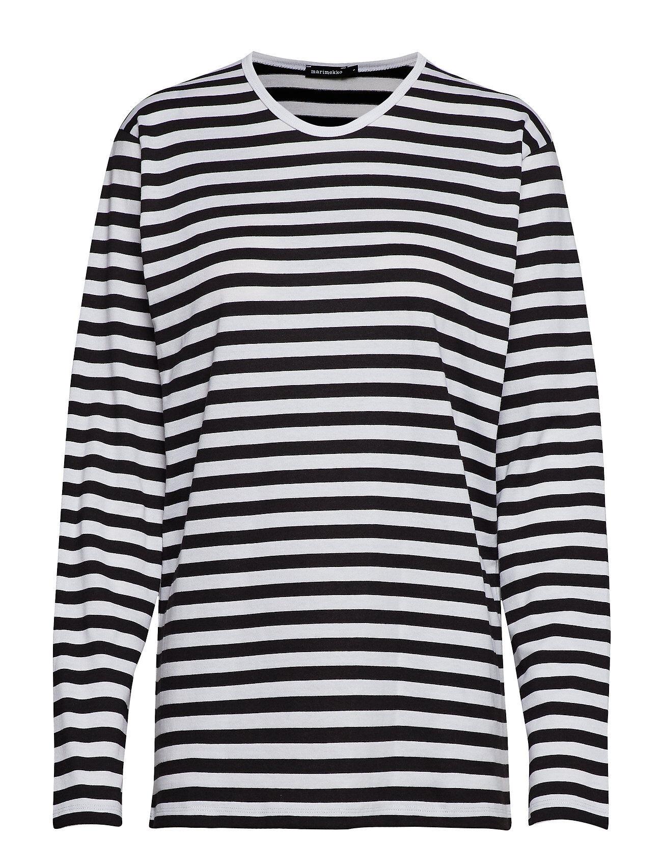 Marimekko PitkÄHiha 2017 Shirt T-shirts & Tops Long-sleeved Monivärinen/Kuvioitu Marimekko