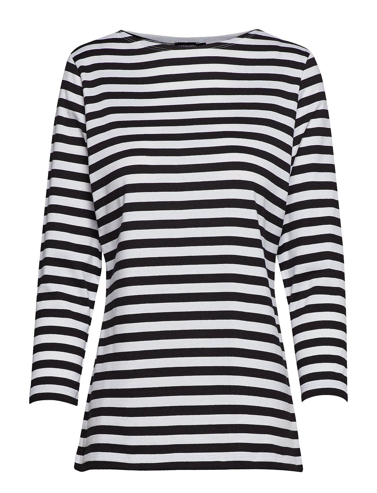 Marimekko Ilma Shirt T-shirts & Tops Long-sleeved Monivärinen/Kuvioitu Marimekko