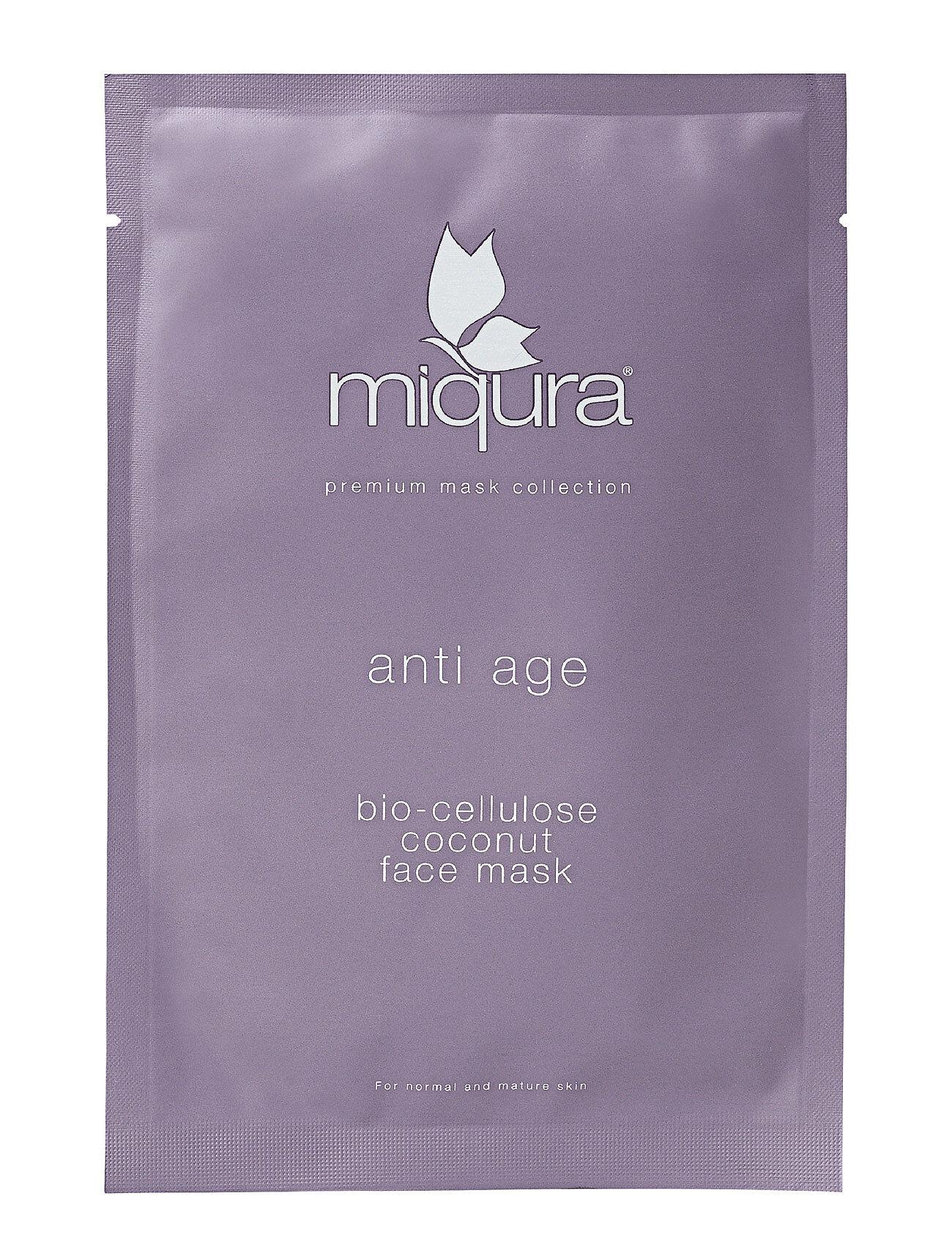 Miqura Anti Age Bio Cellulose Sheet Mask Beauty WOMEN Skin Care Face Sheet Mask Nude Miqura