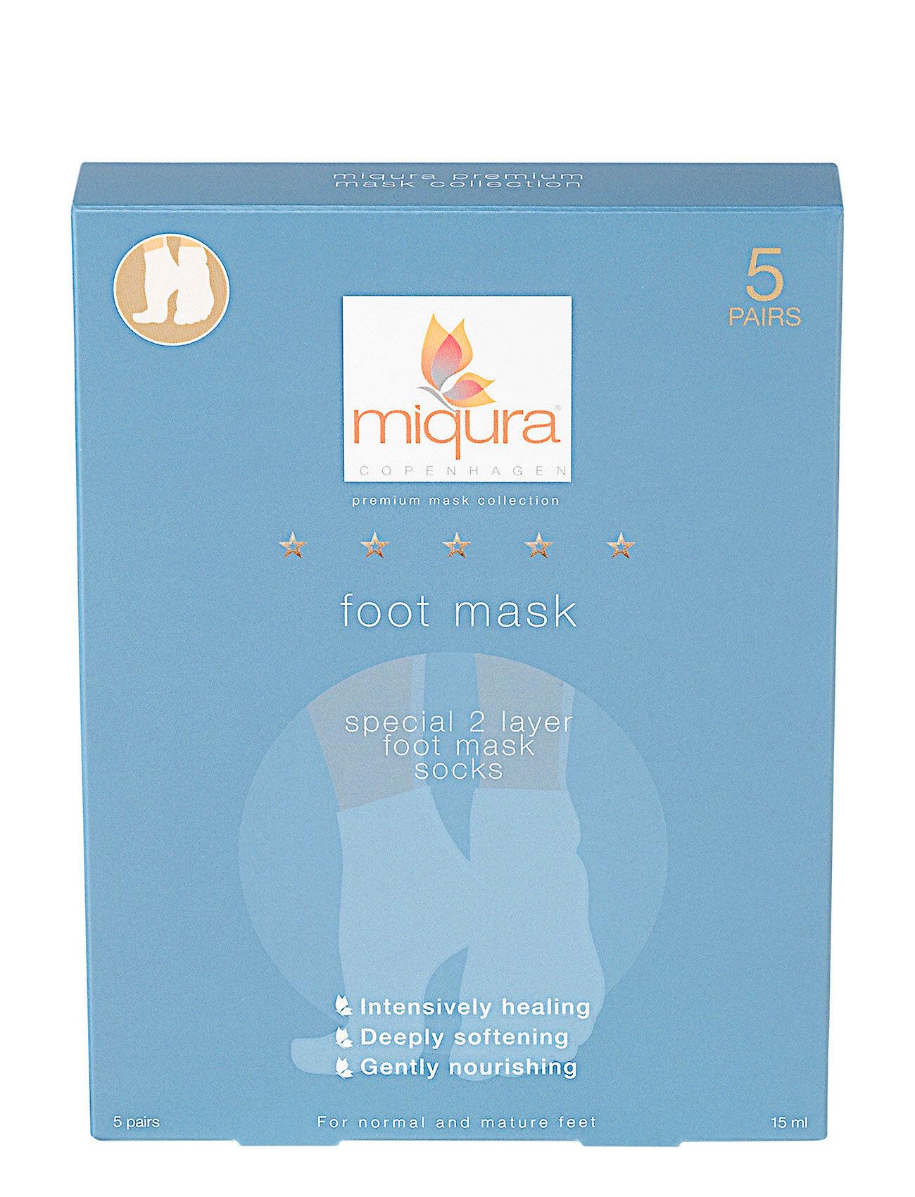 Miqura Premium Foot Mask (5 Pair) Box