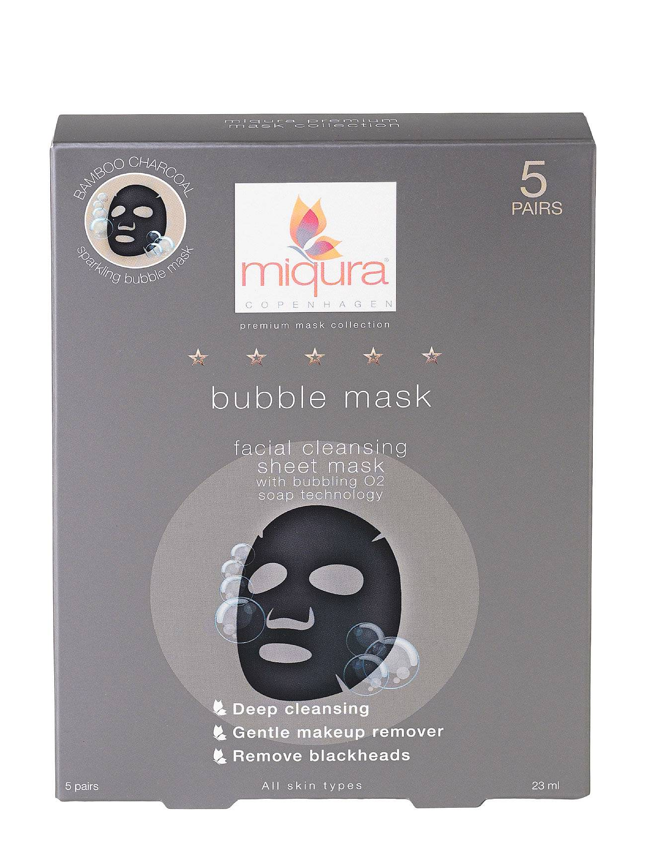 Miqura Bubble Mask (5 Pair) Box