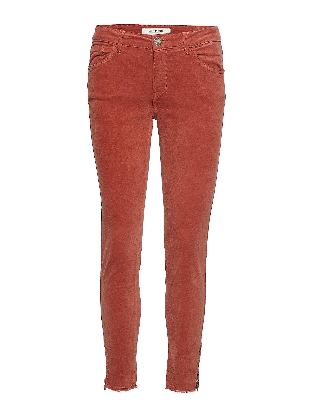MOS MOSH Sumner Velvet Zip Pant