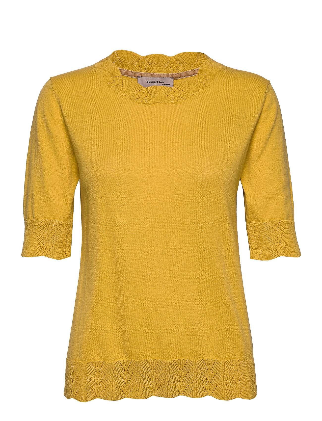 Noa Noa Pullover T-shirts & Tops Knitted T-shirts/tops Keltainen Noa Noa