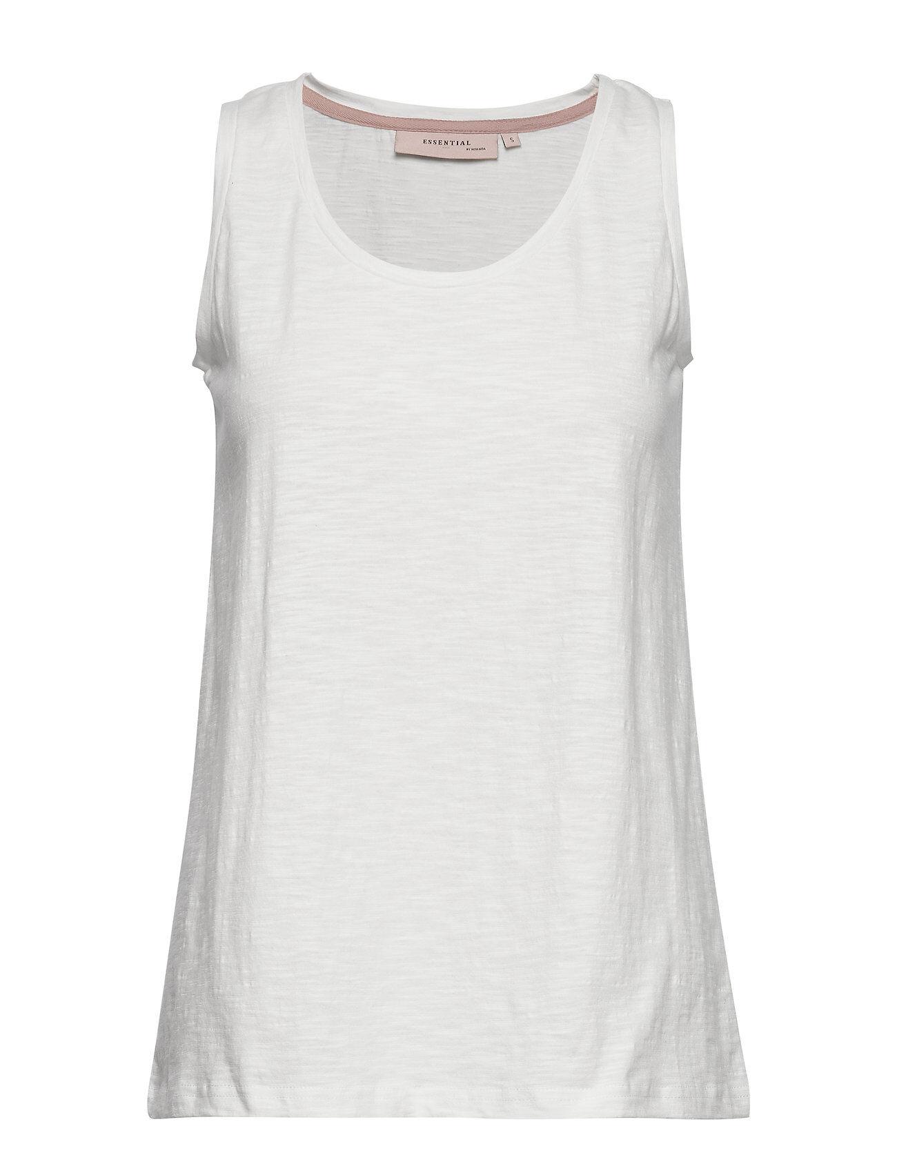 Noa Noa Top T-shirts & Tops Sleeveless Valkoinen Noa Noa