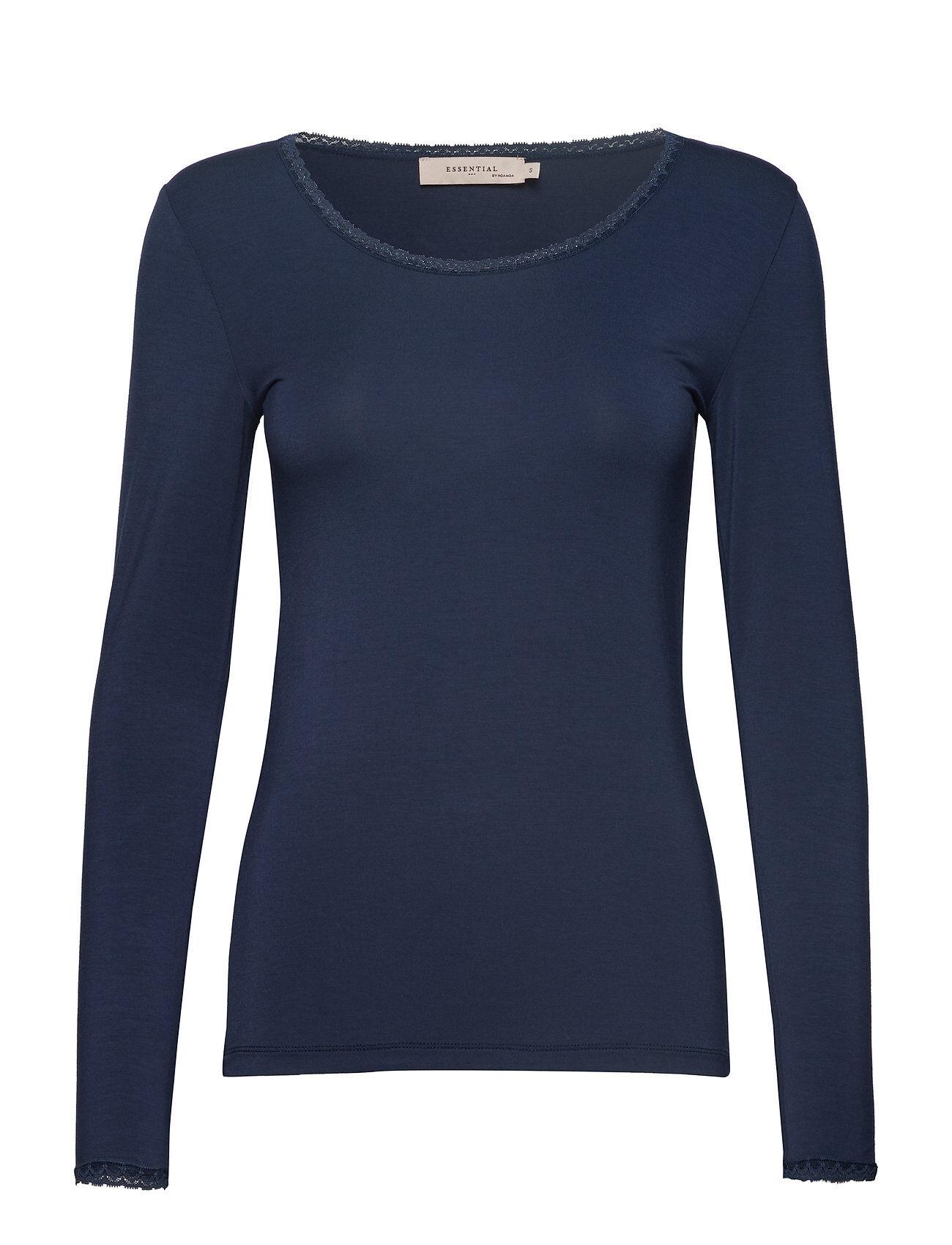 Noa Noa T-Shirt T-shirts & Tops Long-sleeved Sininen Noa Noa