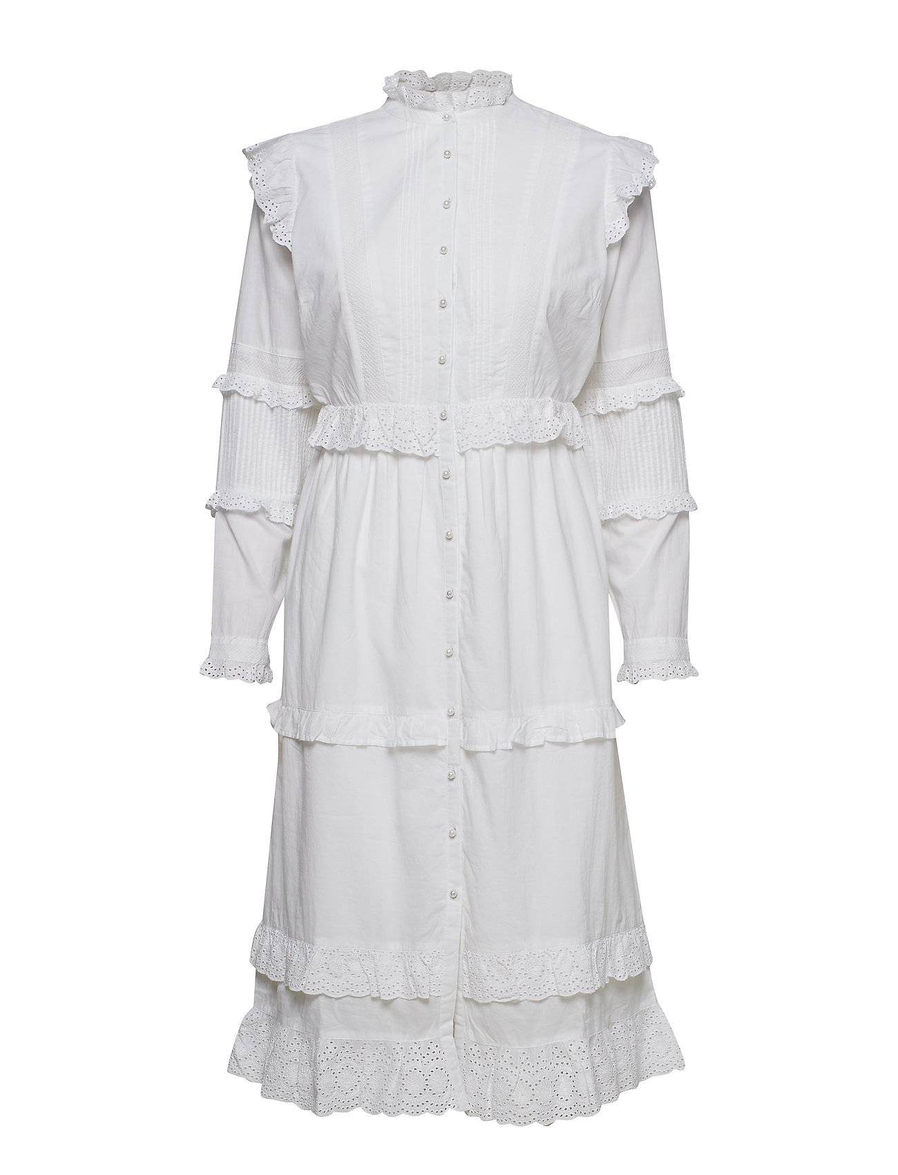 Notes du Nord Kimberly Dress White