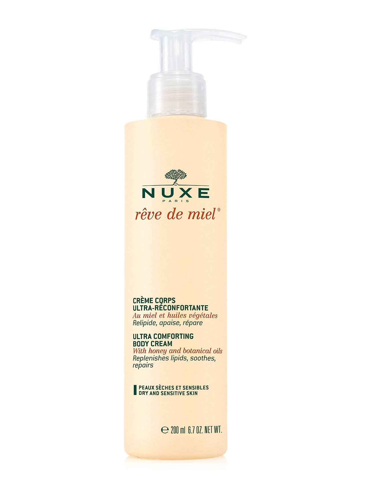 NUXE Creme Corps Ultra-Reconfortante Beauty WOMEN Skin Care Body Body Lotion Nude NUXE