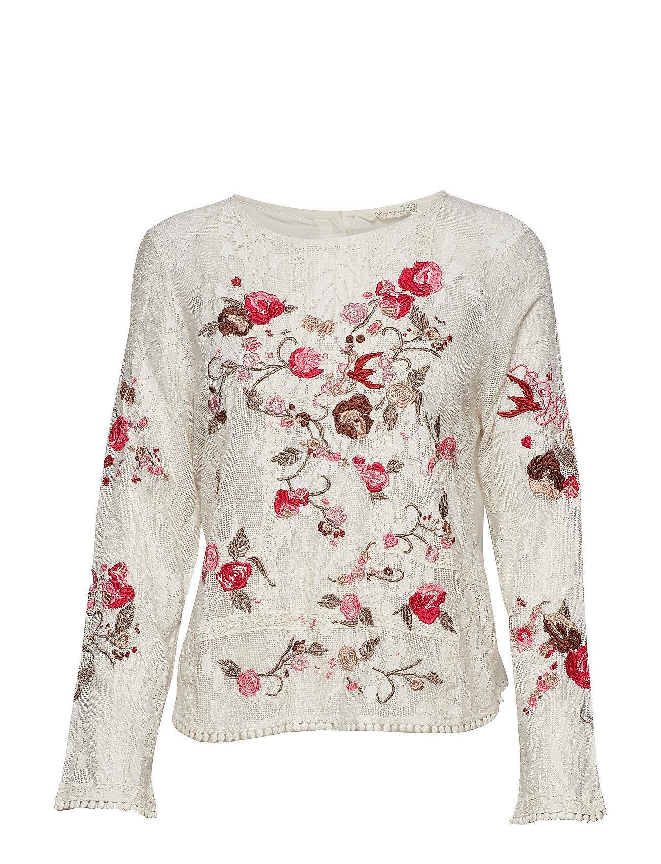Image of ODD MOLLY Misty Magic Top T-shirts & Tops Long-sleeved Valkoinen ODD MOLLY