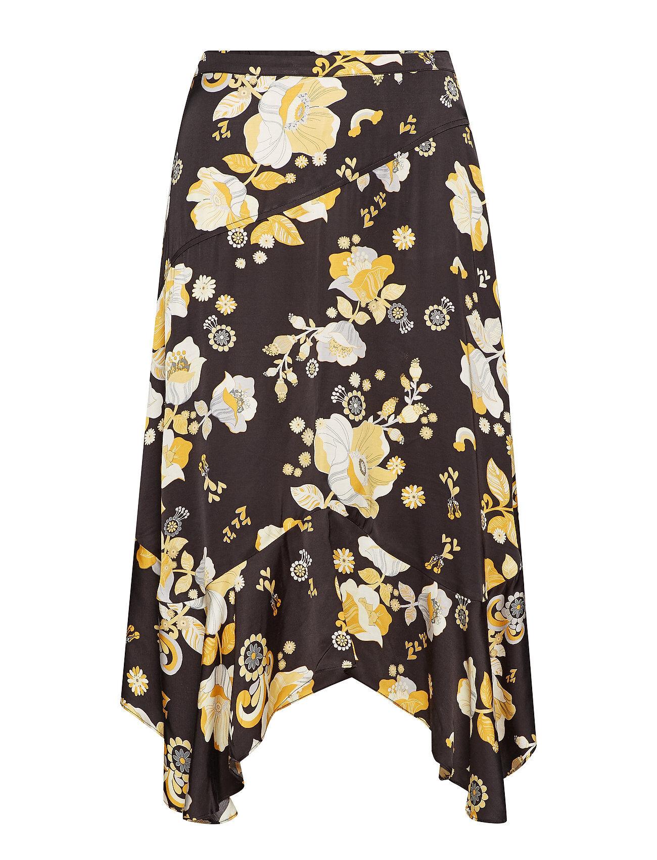Image of ODD MOLLY Love Bells Skirt Polvipituinen Hame Musta