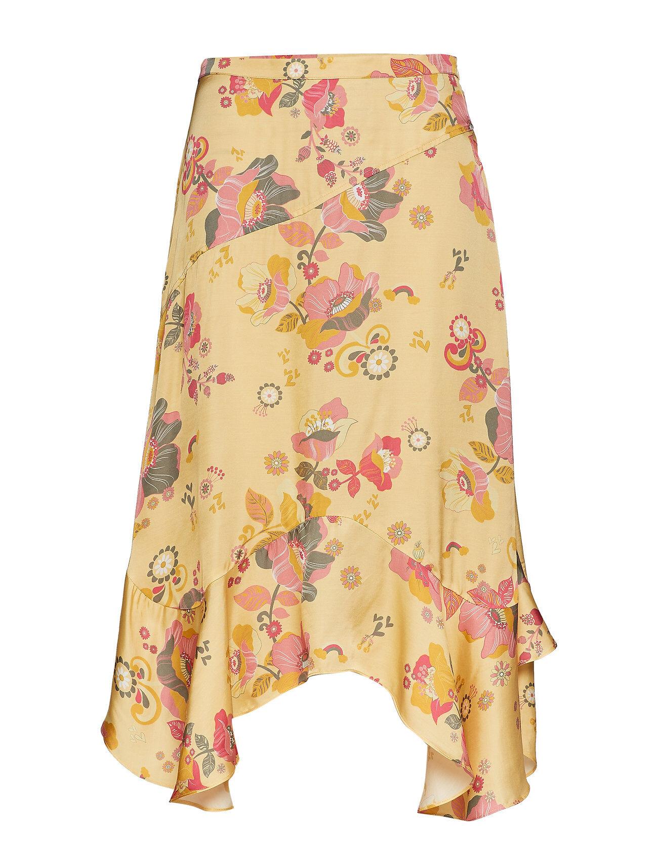 Image of ODD MOLLY Love Bells Skirt Polvipituinen Hame Keltainen