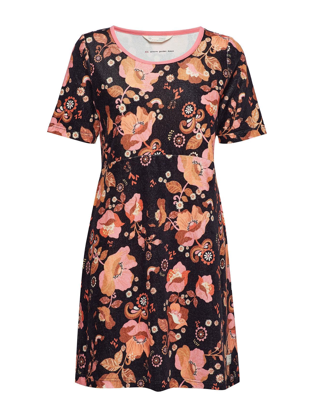 Image of ODD MOLLY Groove Garden Dress Polvipituinen Mekko Monivärinen/Kuvioitu ODD MOLLY