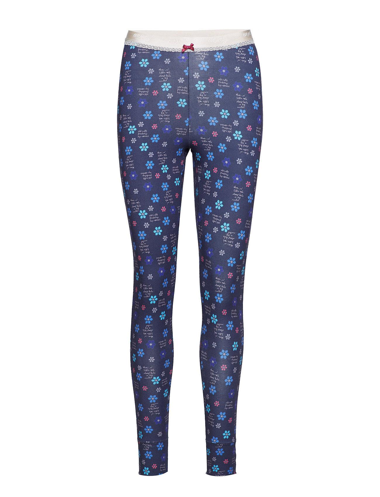 Image of ODD MOLLY Love Flame Pyjamas Pant Pyjama Sininen ODD MOLLY