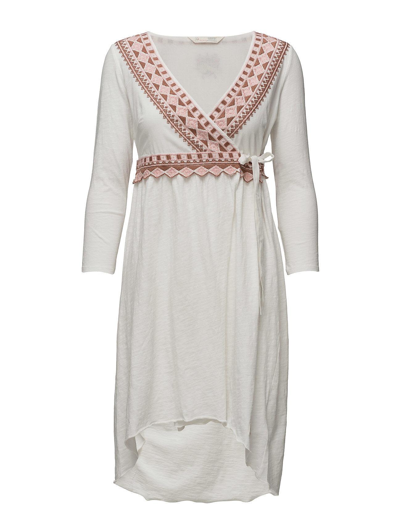 Image of ODD MOLLY Get-A-Way L/S Dress Polvipituinen Mekko Kermanvärinen ODD MOLLY