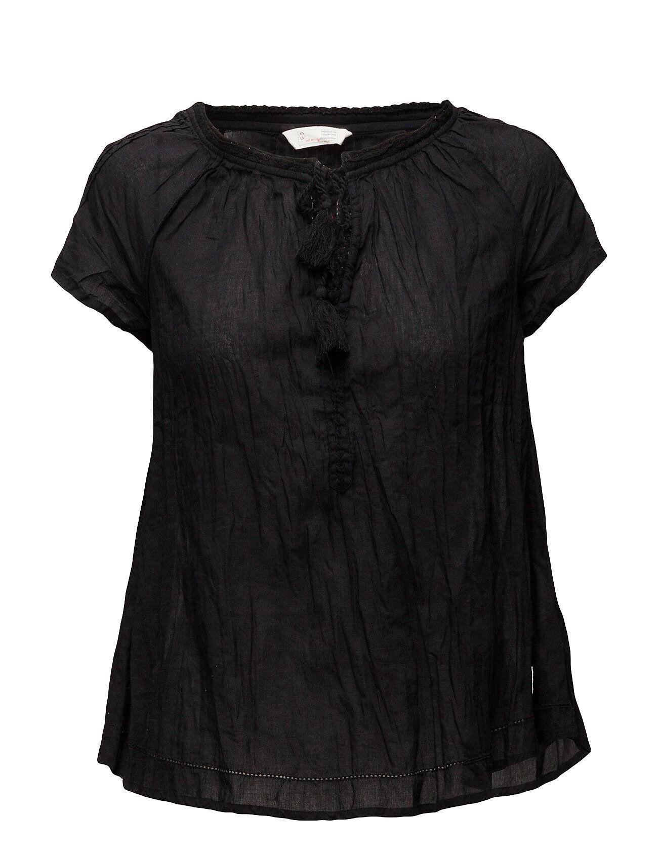 Image of ODD MOLLY So Long S/S Blouse Blouses Short-sleeved Musta ODD MOLLY