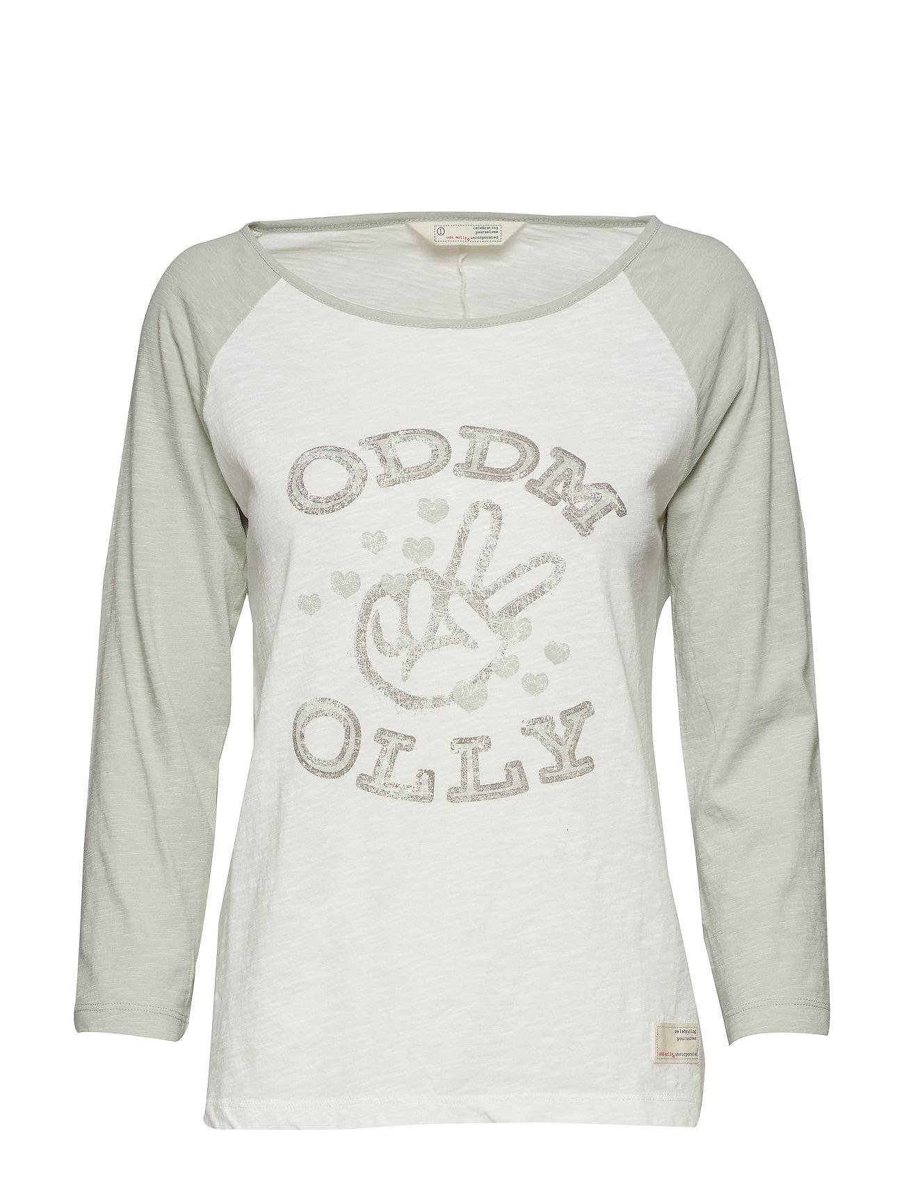 Image of ODD MOLLY Breather L/S Top T-shirts & Tops Long-sleeved Vihreä