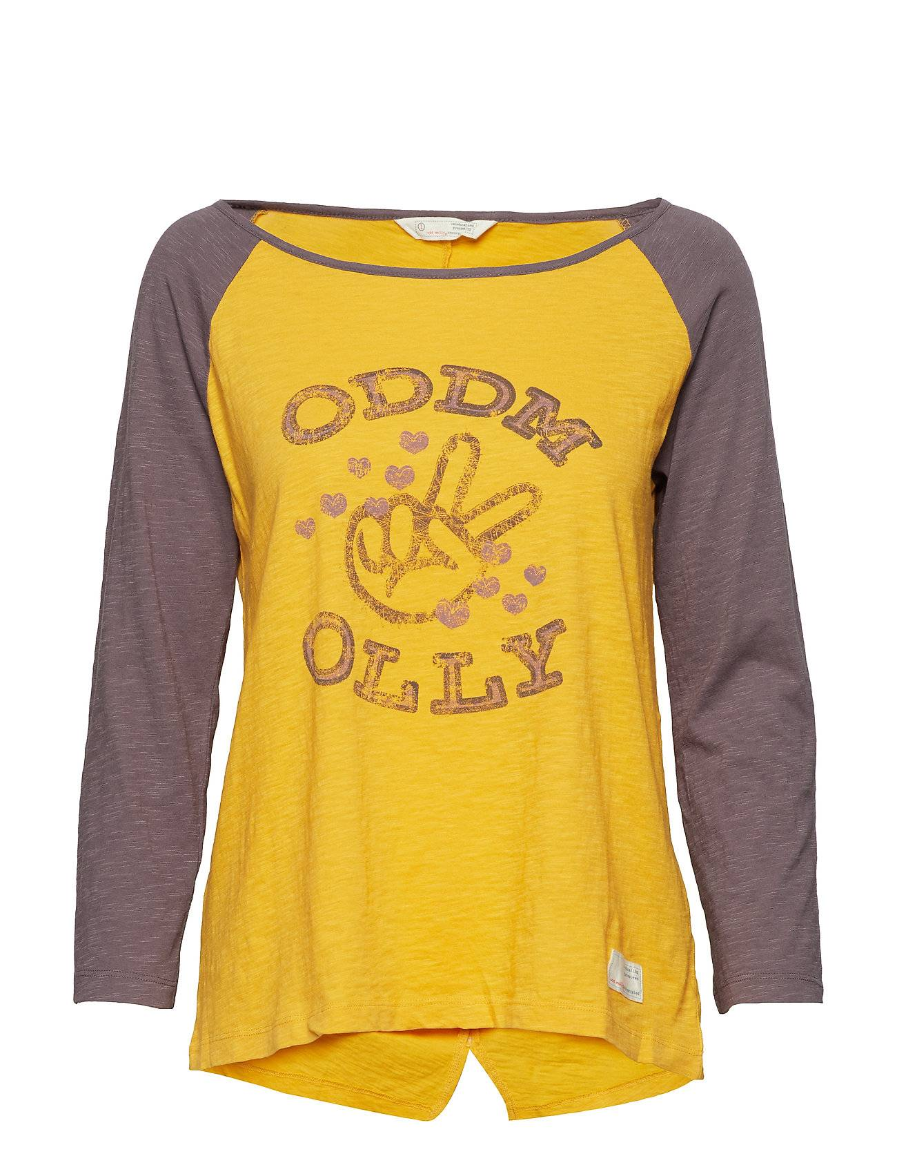 Image of ODD MOLLY Breather L/S Top T-shirts & Tops Long-sleeved Keltainen ODD MOLLY