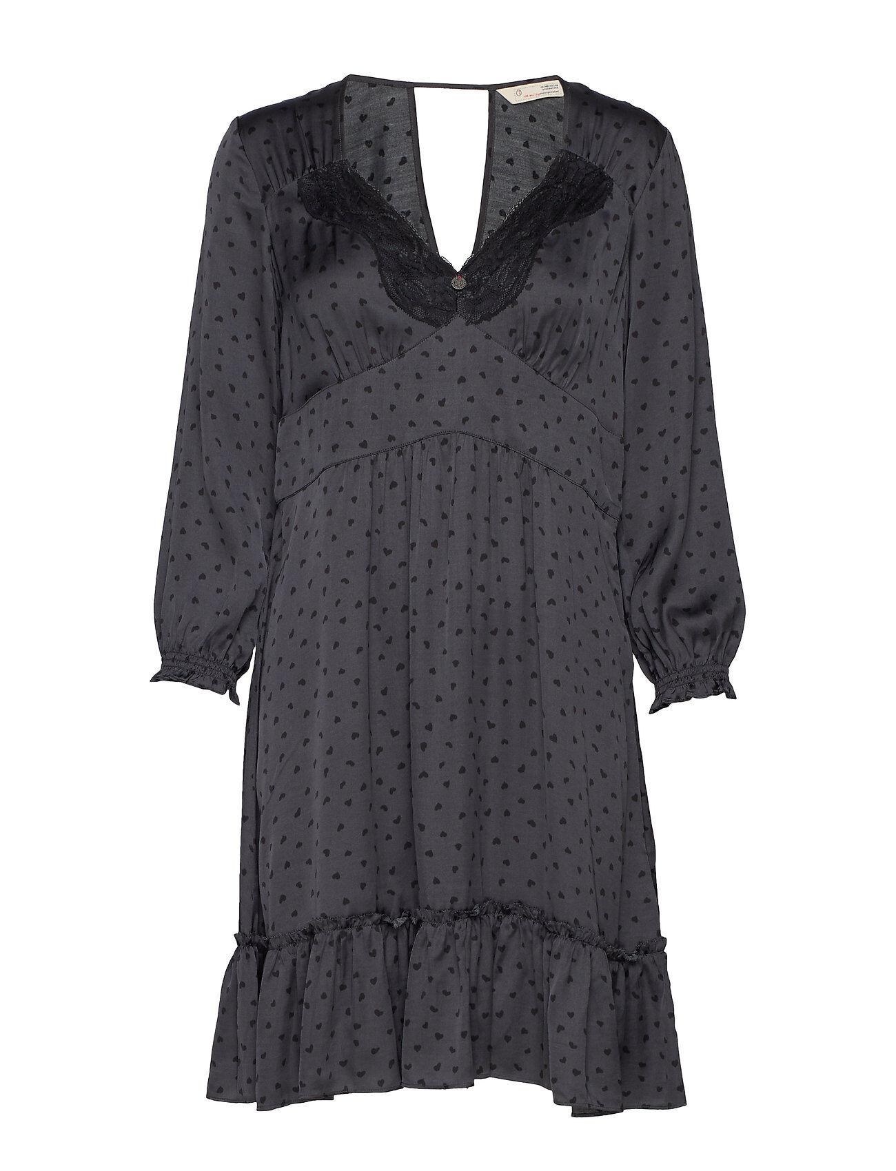 Image of ODD MOLLY Hello New Love Dress Polvipituinen Mekko Musta ODD MOLLY