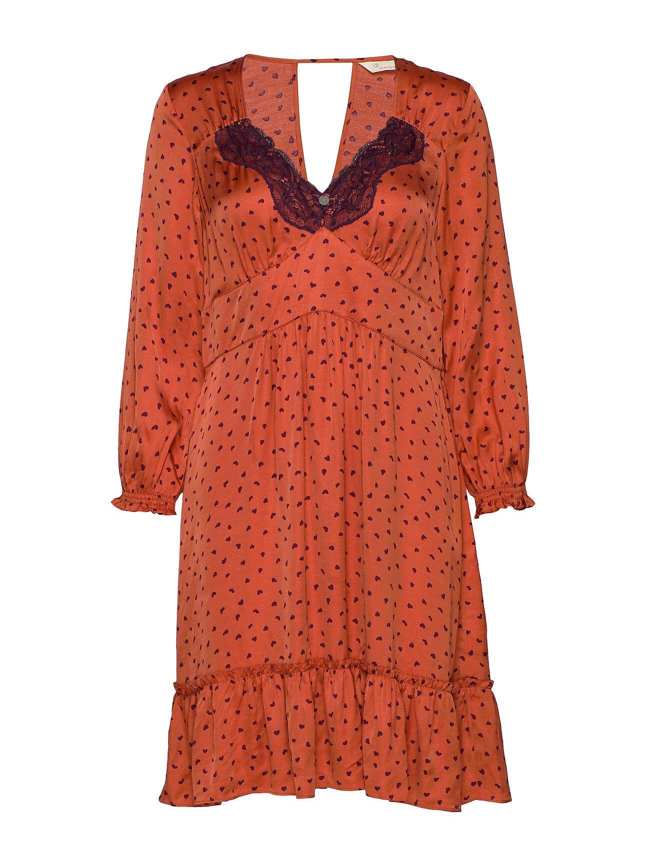 Image of ODD MOLLY Hello New Love Dress Polvipituinen Mekko Oranssi ODD MOLLY