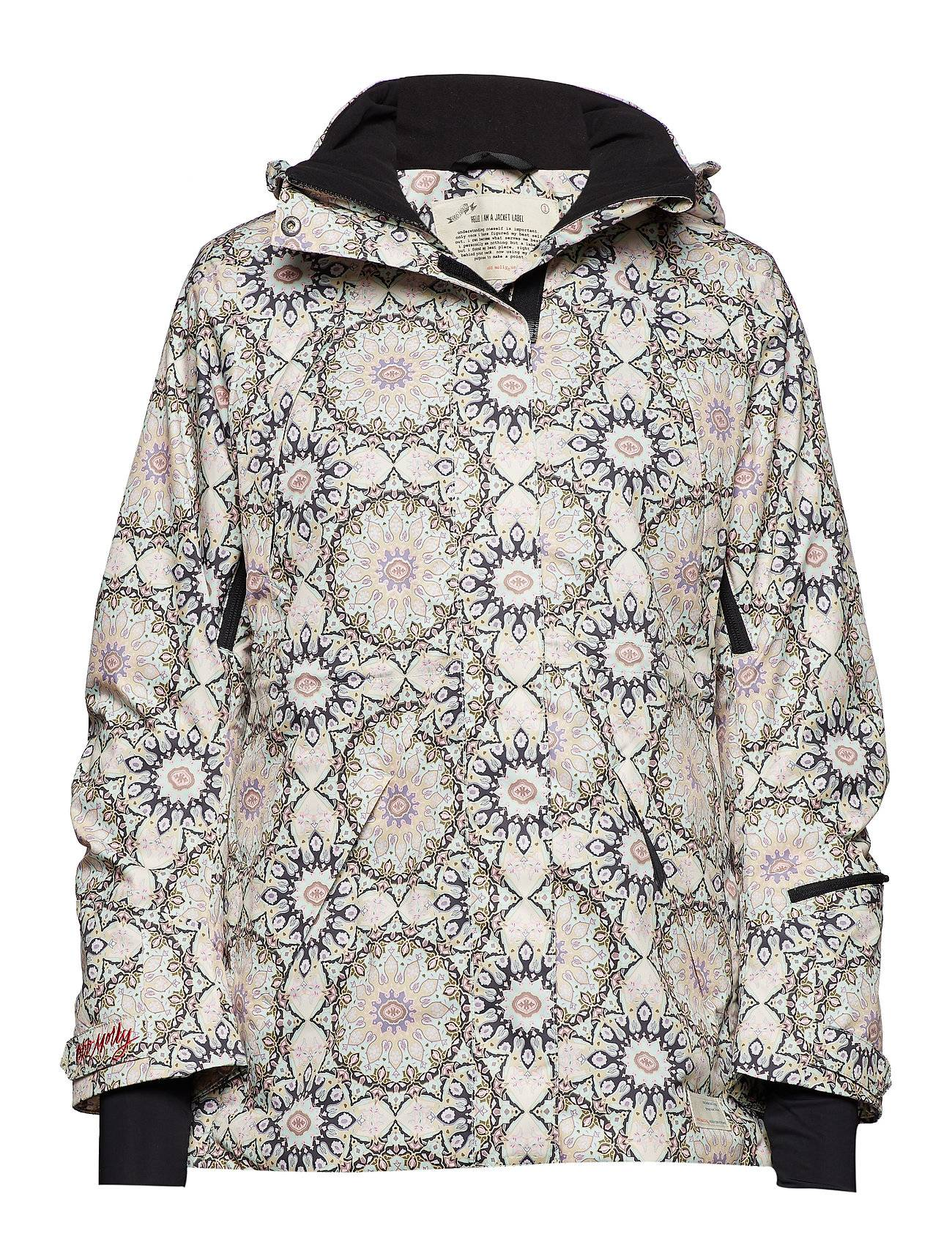 Image of ODD MOLLY ACTIVE WEAR Love-Alanche Jacket Vuorillinen Takki Topattu Takki Vaaleanpunainen ODD MOLLY ACTIVE WEAR
