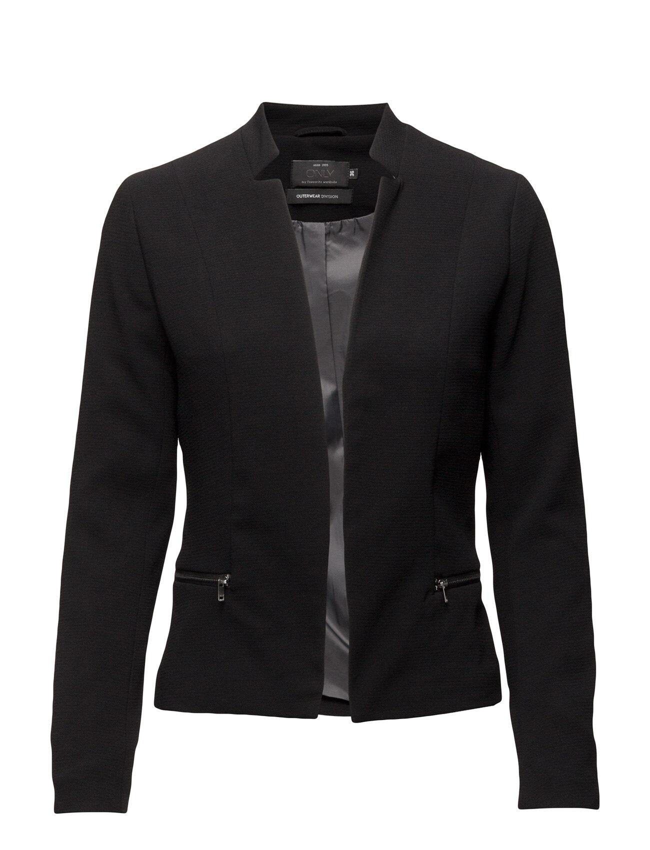 Image of ONLY Onlmadeline Blazer Jacket Aw Otw Noos Bleiseri Puvun Takki Musta ONLY