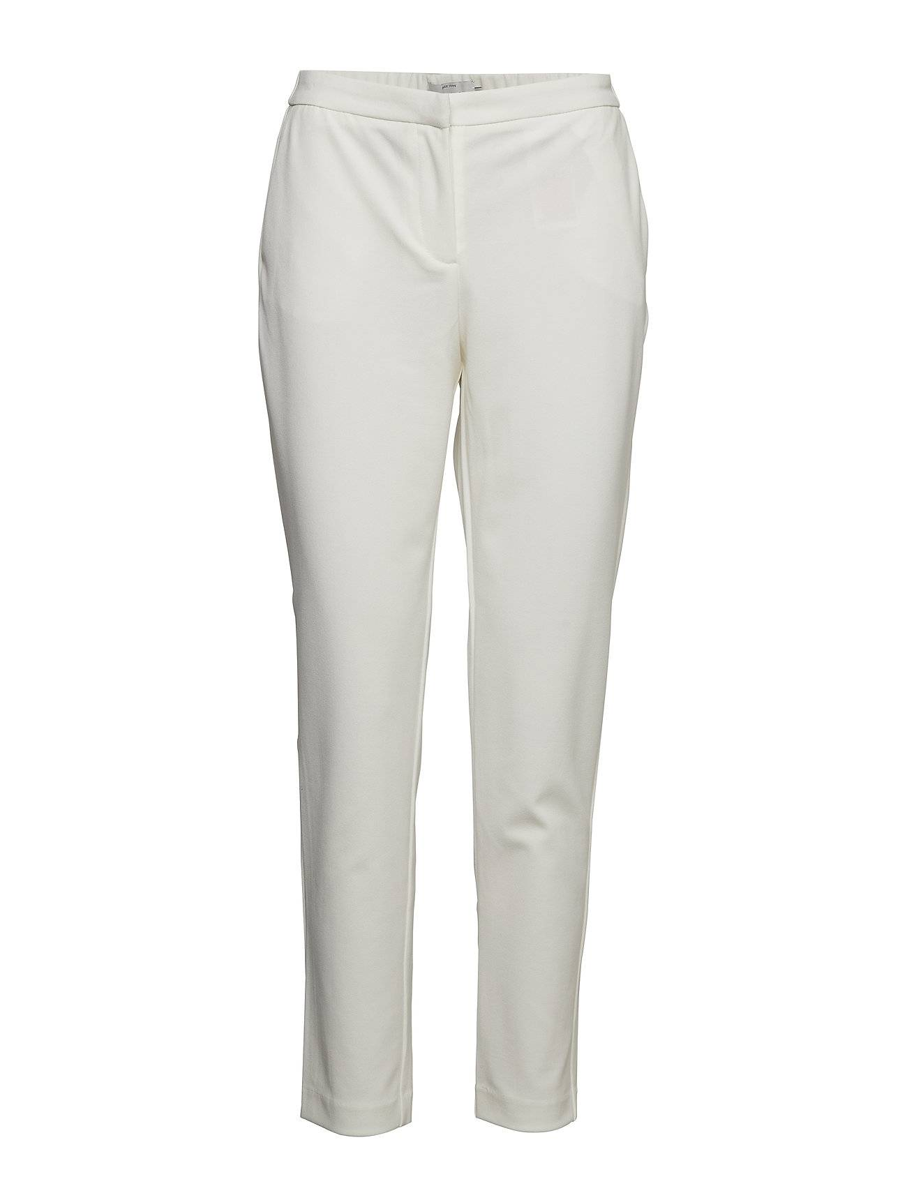 Image of ONLY Onlcarolina Cigarette Pants Cc Tlr Suoralahkeiset Housut Valkoinen ONLY