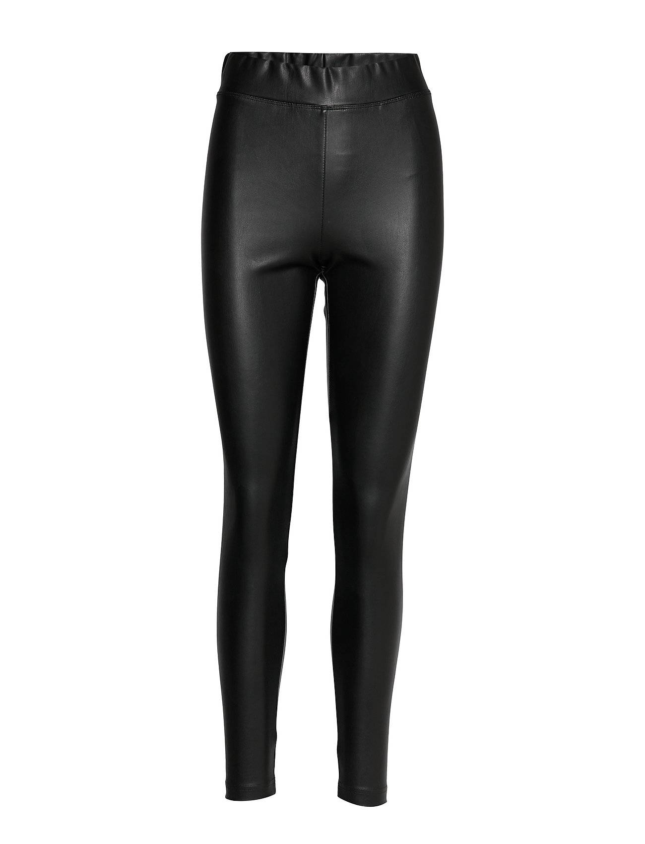 Image of ONLY Onlsuper-Star Pu Legging Pnt Leather Leggings/Housut Musta ONLY