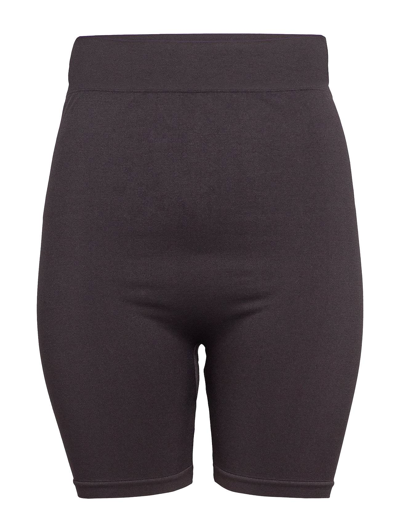 Image of ONLY Carmakoma Carstephanie Seamless Hw Shorts Lingerie Shapewear Bottoms Musta ONLY Carmakoma