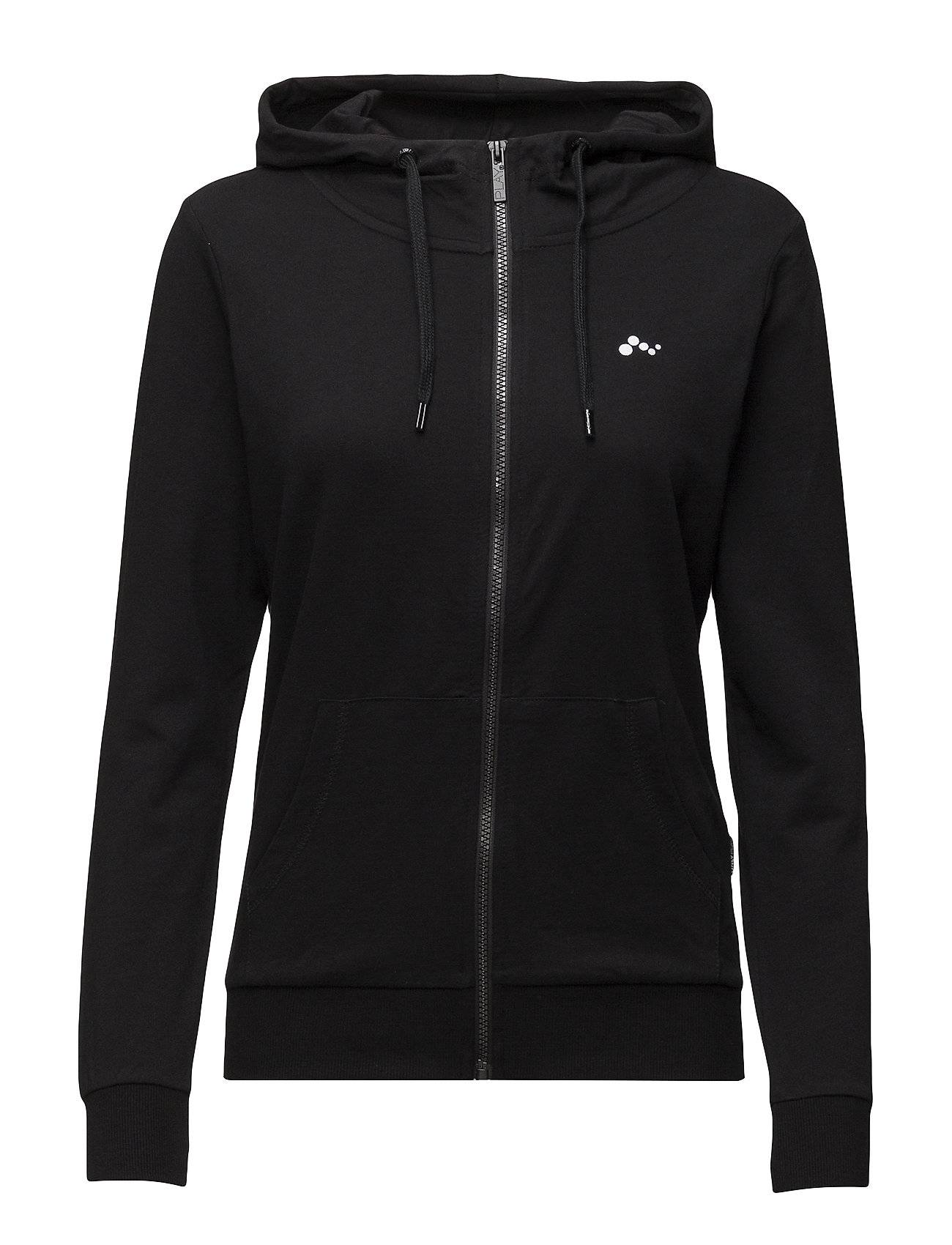Image of ONLY PLAY Onplina Zip Hood Sweat - Opus Sweat-shirts & Hoodies Zip Throughs Musta ONLY PLAY