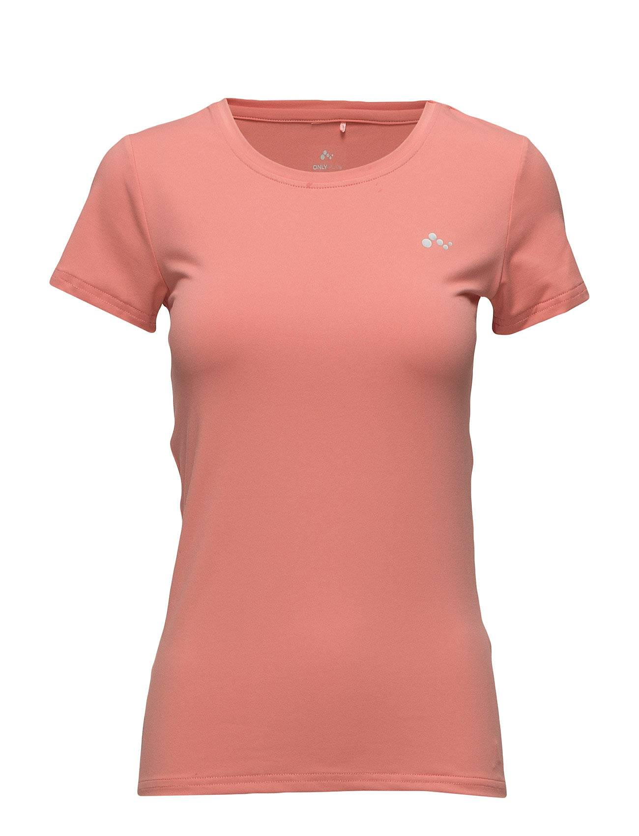 Image of ONLY PLAY Onpclarissa Ss Training Tee - Opus T-shirts & Tops Short-sleeved Vaaleanpunainen ONLY PLAY