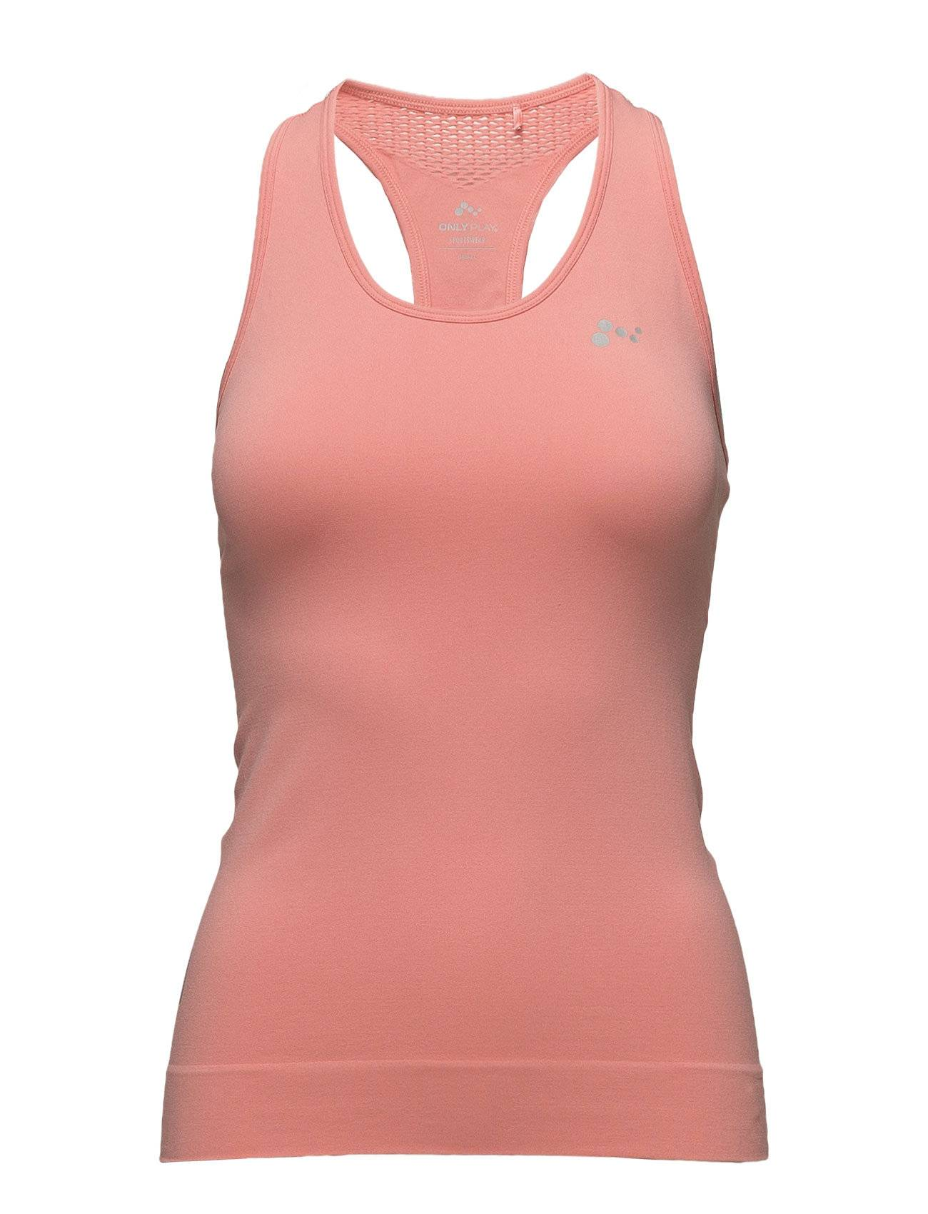 Image of ONLY PLAY Onpchristina Seamless Sl Top - Opus T-shirts & Tops Sleeveless Vaaleanpunainen ONLY PLAY