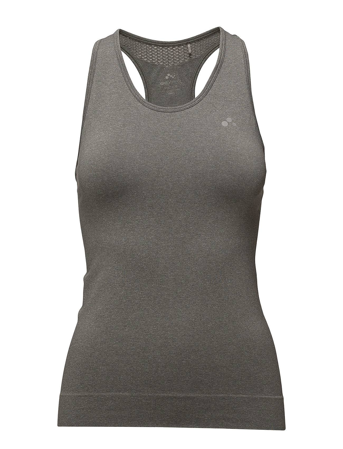 Image of ONLY PLAY Onpchristina Seamless Sl Top - Opus T-shirts & Tops Sleeveless Harmaa ONLY PLAY