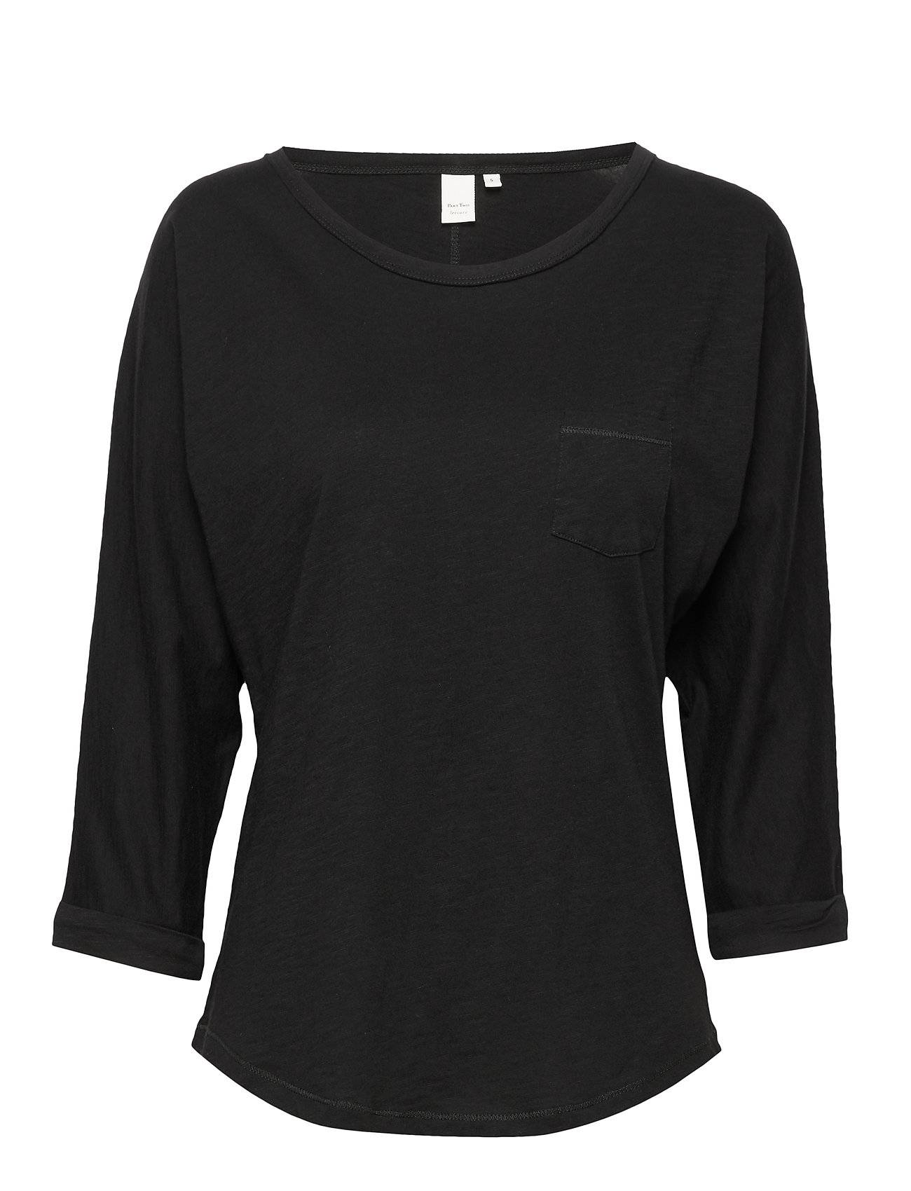 Part Two Birtepw Ts T-shirts & Tops Long-sleeved Musta Part Two