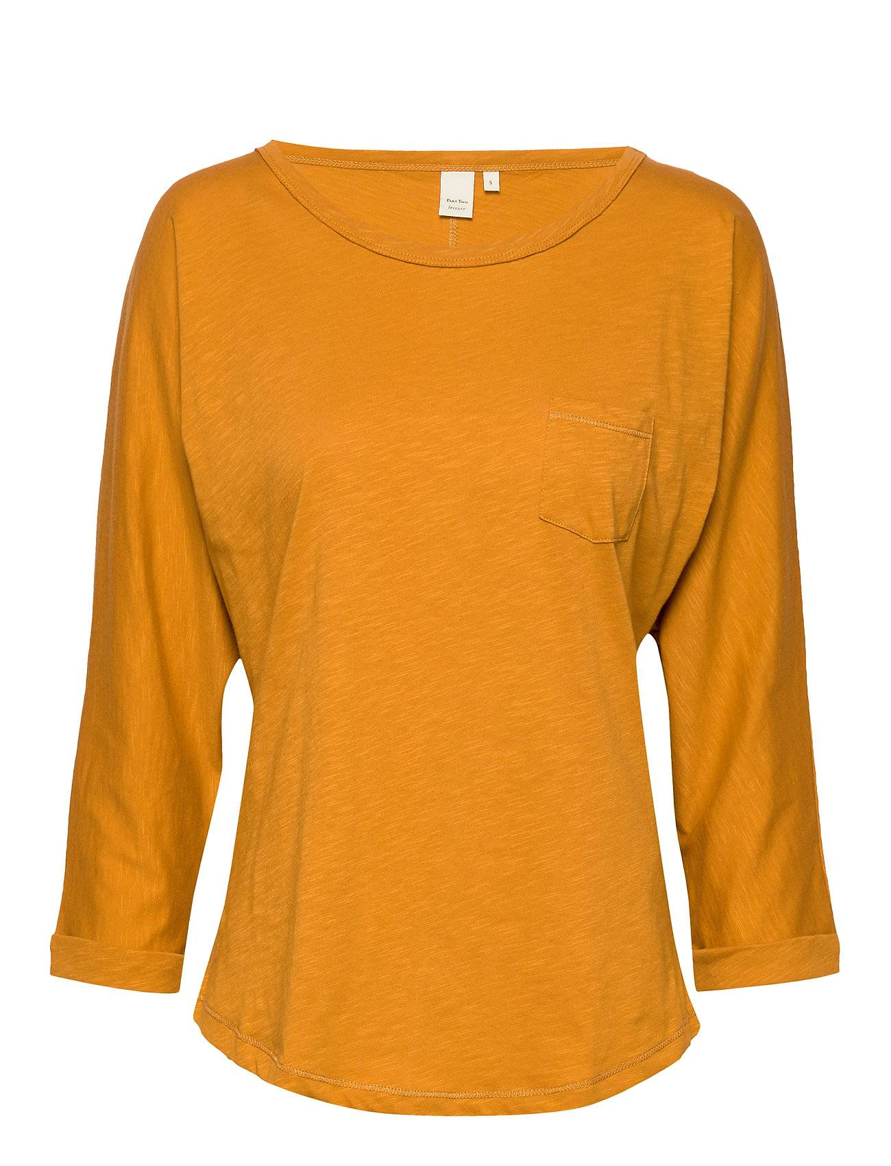 Part Two Birtepw Ts T-shirts & Tops Long-sleeved Keltainen Part Two