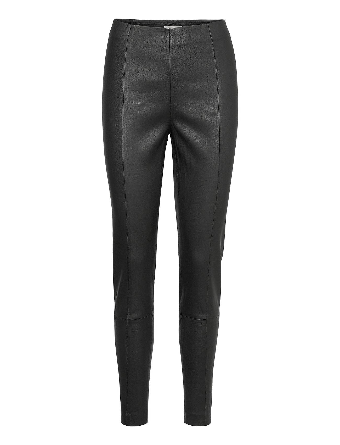 Part Two Tessapw Stretch Pa Tessapw Leather Leggings/Housut Musta Part Two