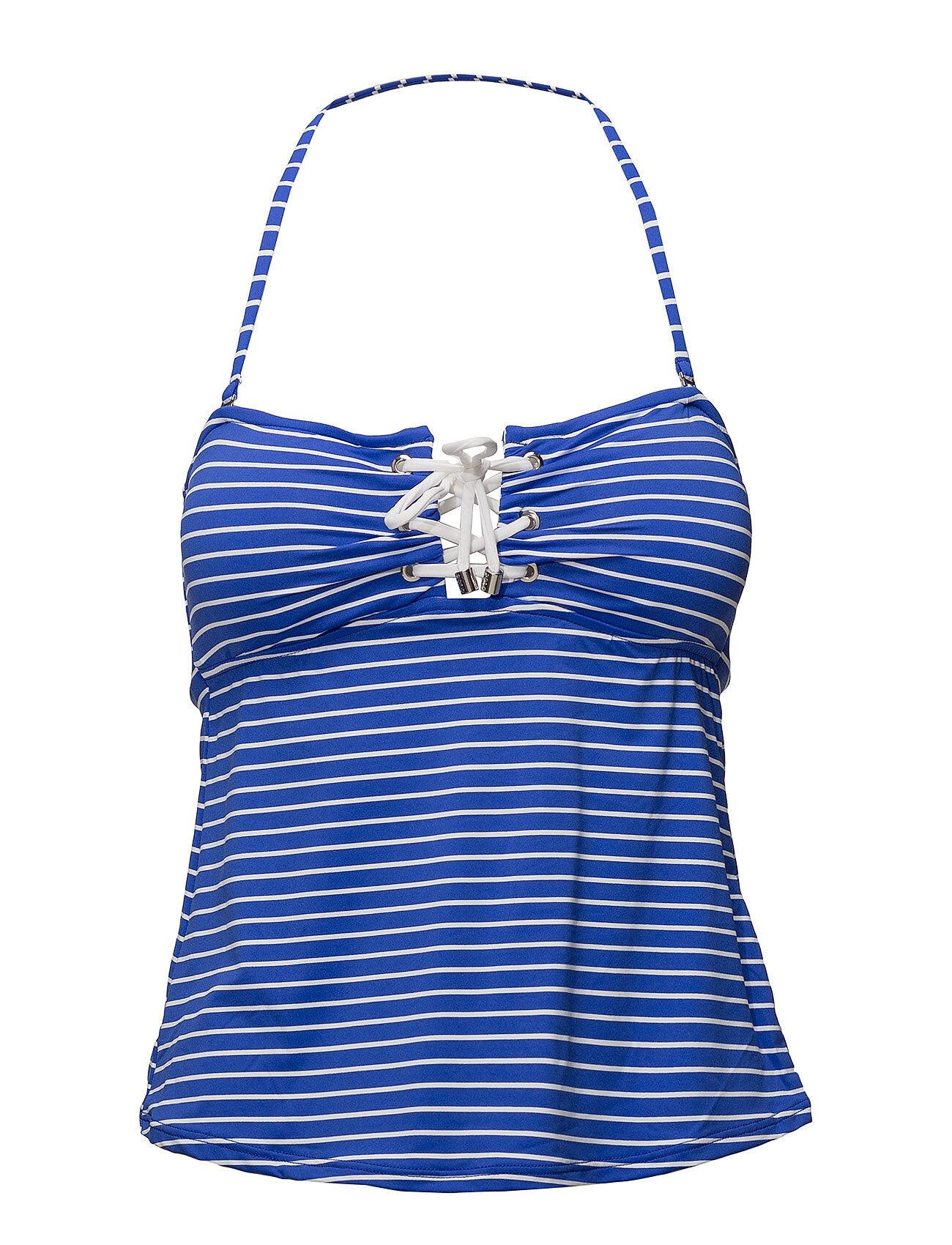 Polo Ralph Lauren Swimwear Resort Stripes Laced Tubini W Rem Cups