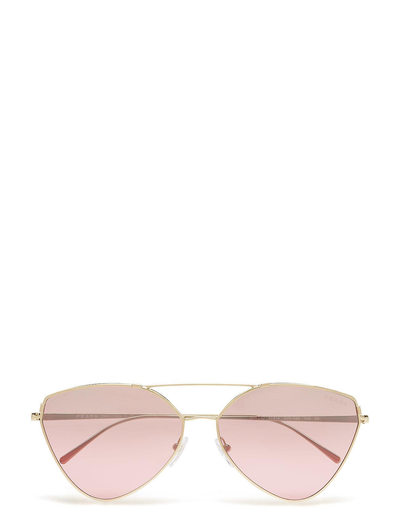 Image of Prada Sunglasses Women'S Sunglasses Neliönmuotoiset Aurinkolasit Vaaleanpunainen Prada Sunglasses
