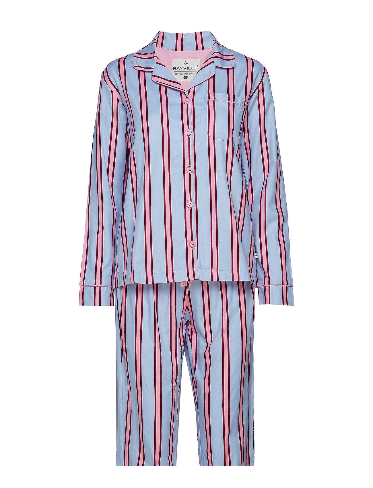 Rayville Debbie Pyjamas Shadow Stripe