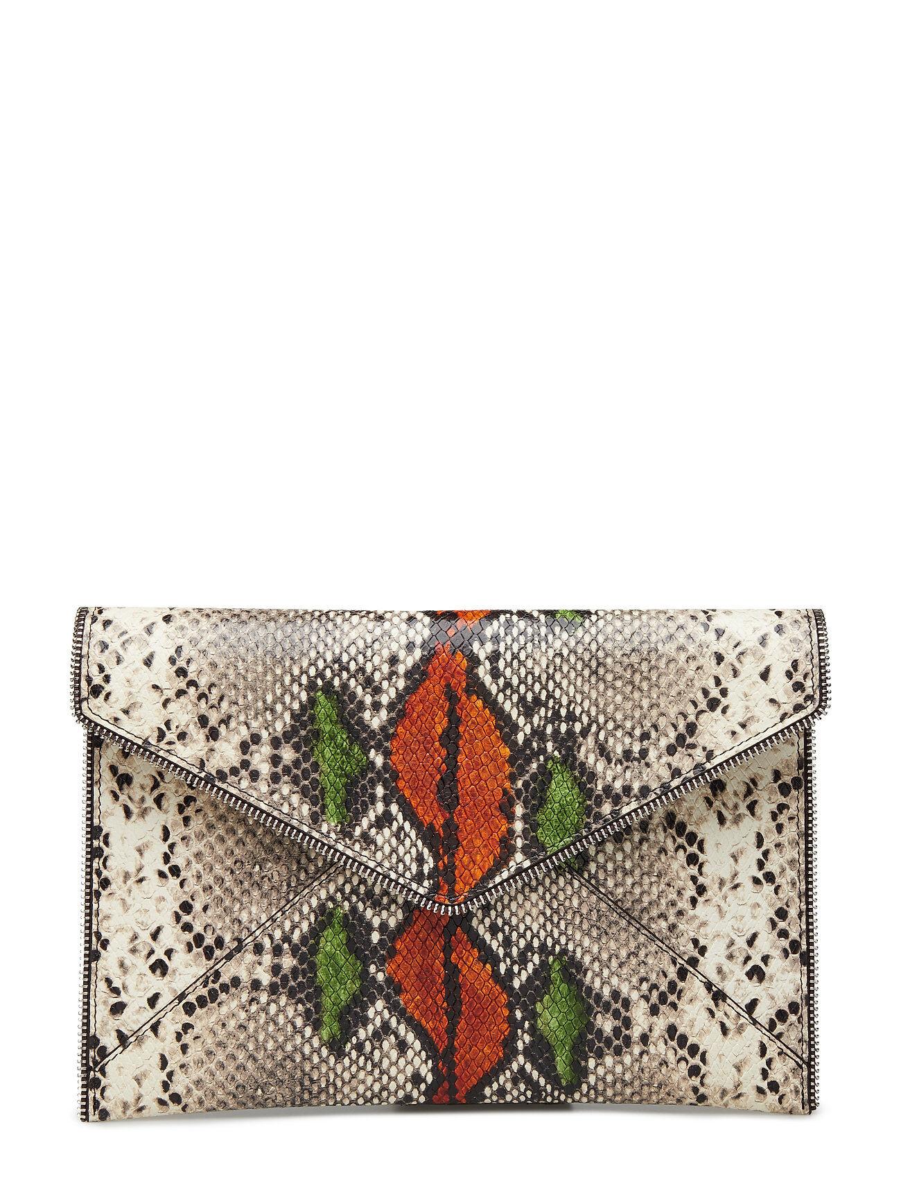 Rebecca Minkoff Graphic Embossed Snake