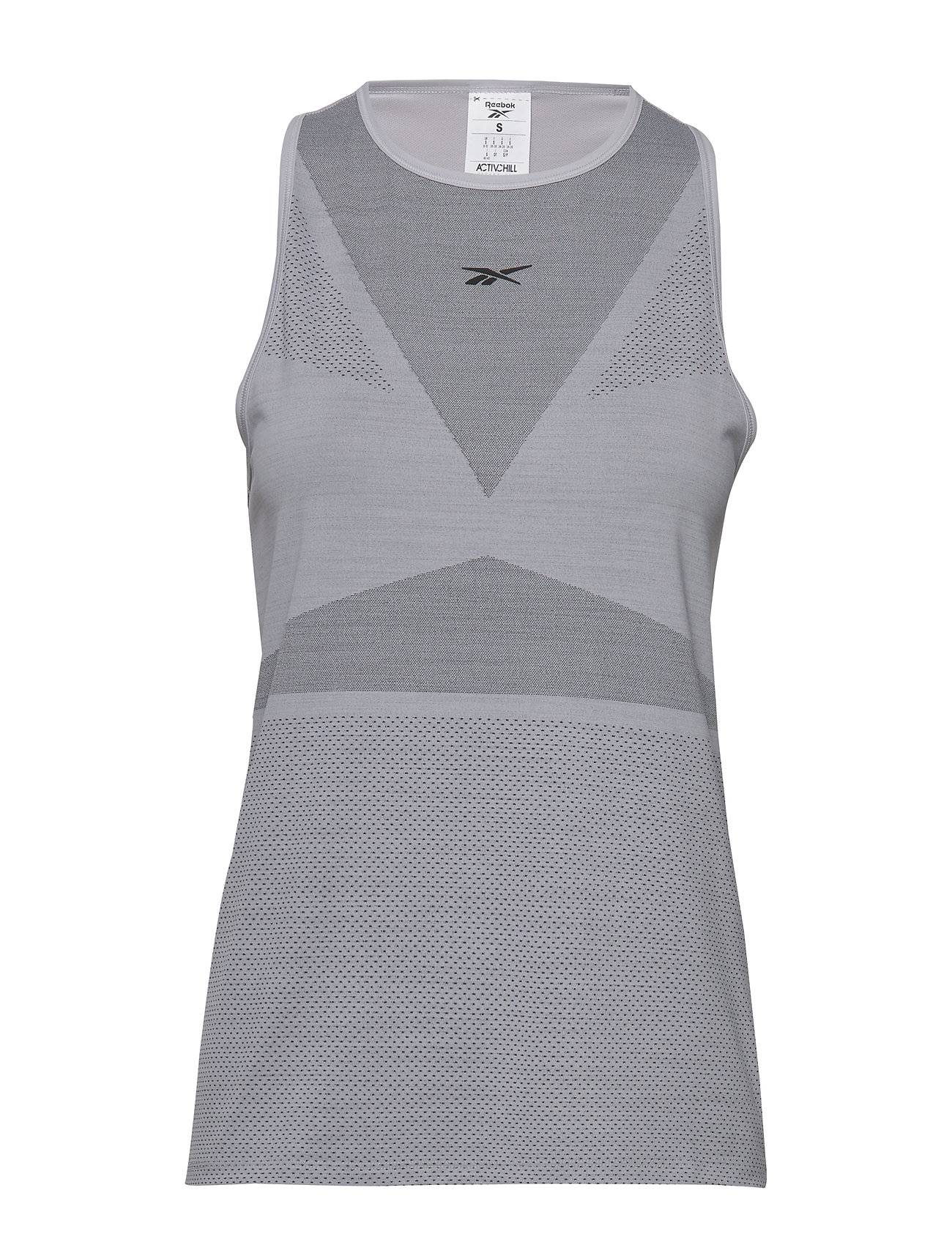 Reebok Performance Ubf Activchill Vent Tank T-shirts & Tops Sleeveless Harmaa Reebok Performance