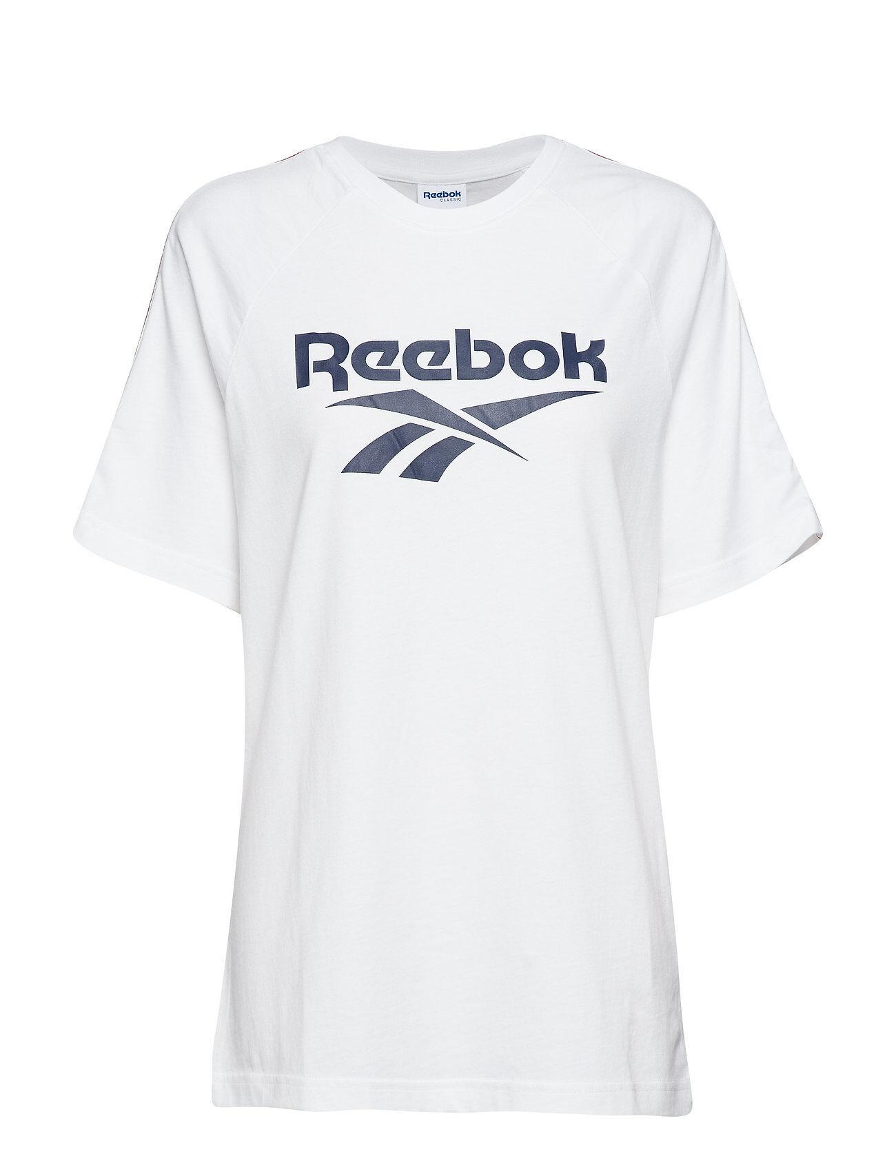 Reebok Classics Cl V P Tee Unisex T-shirts & Tops Short-sleeved Valkoinen Reebok Classics
