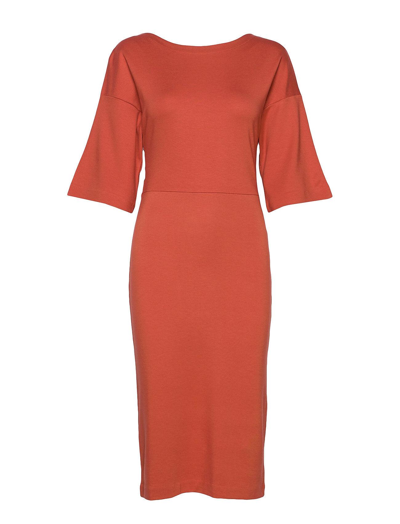 Residus Winifred Dress Polvipituinen Mekko Oranssi Residus